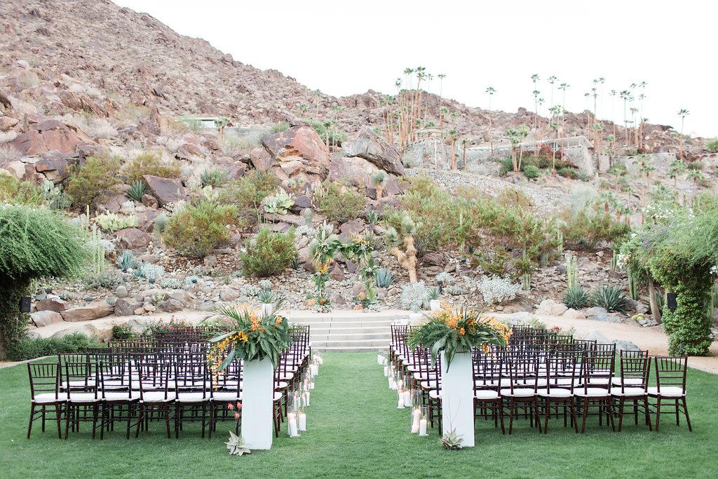 emily adhir wedding ceremony empty