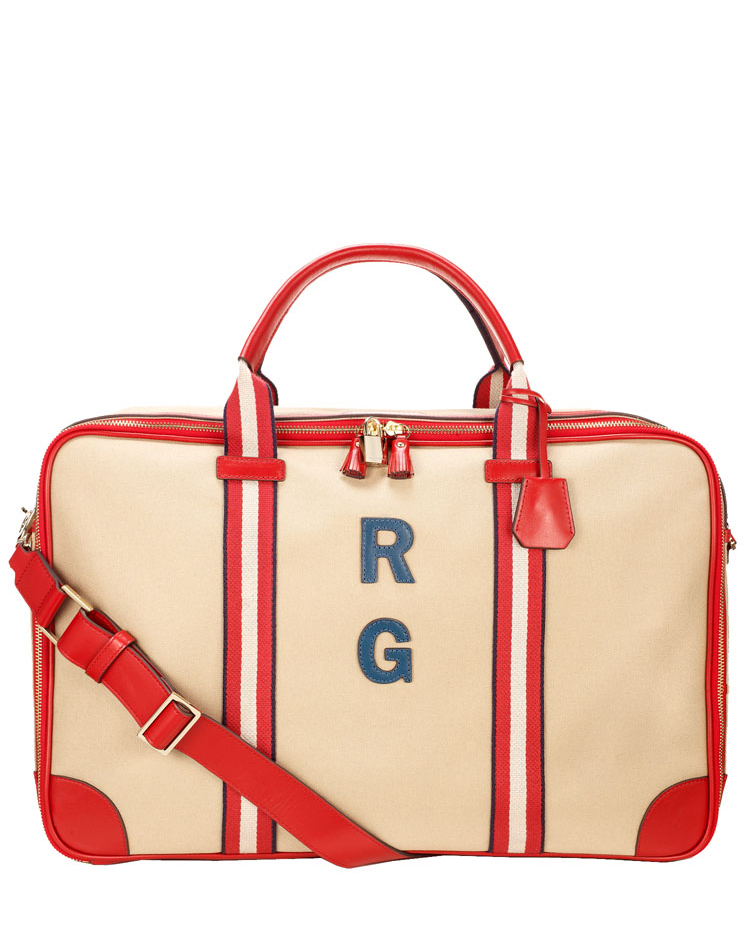 walton bag with initials