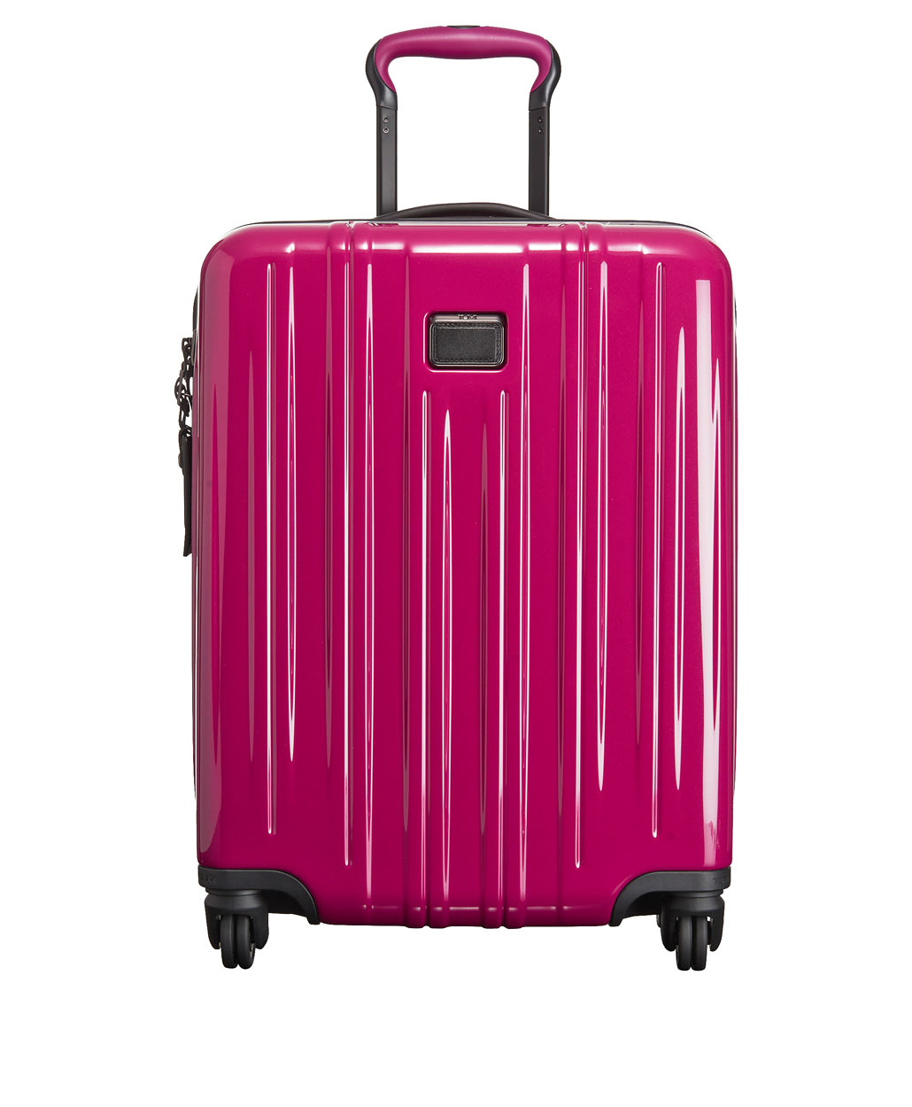 carry on bag pink suitcase