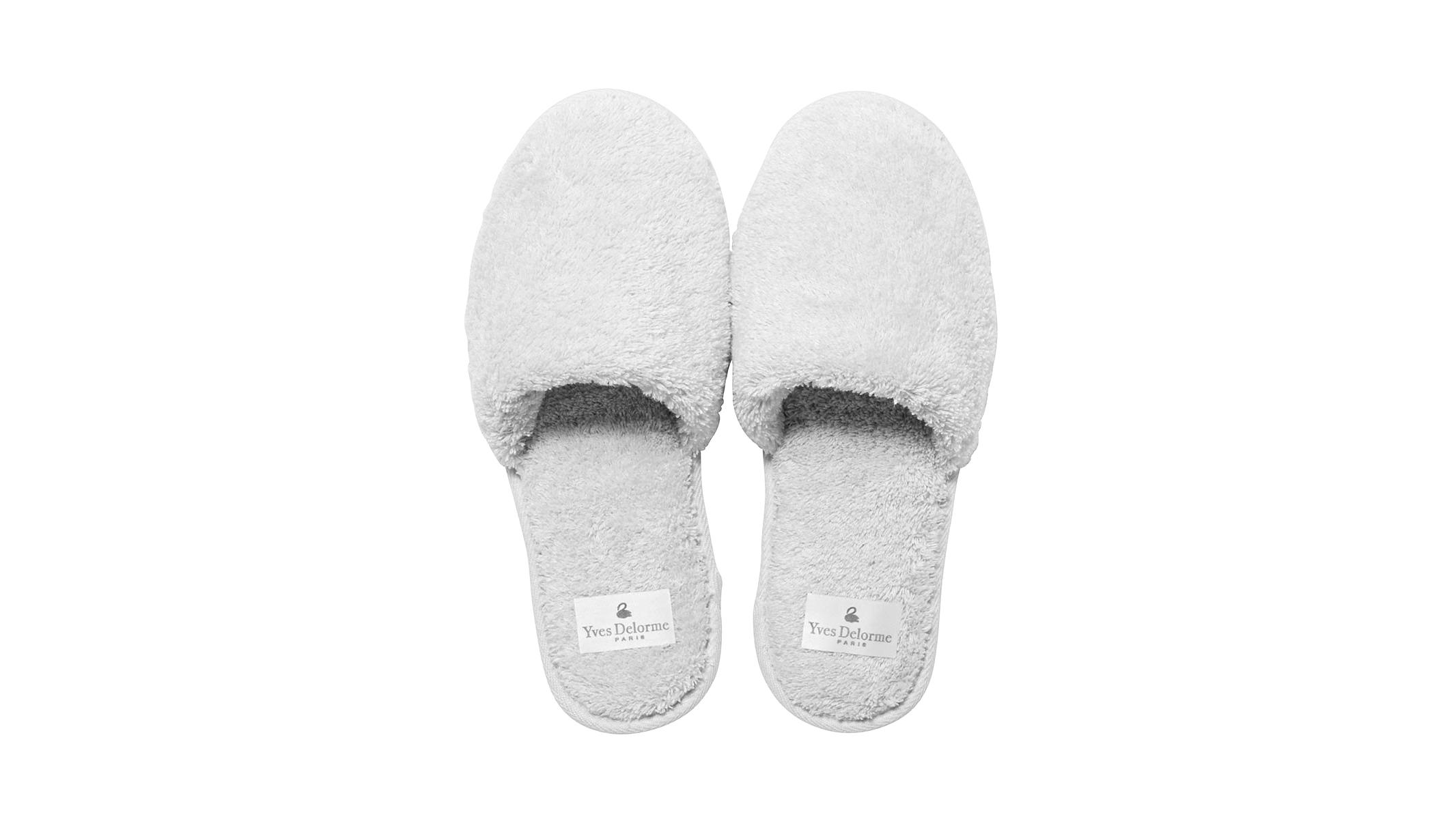 yves delorme etoile slippers