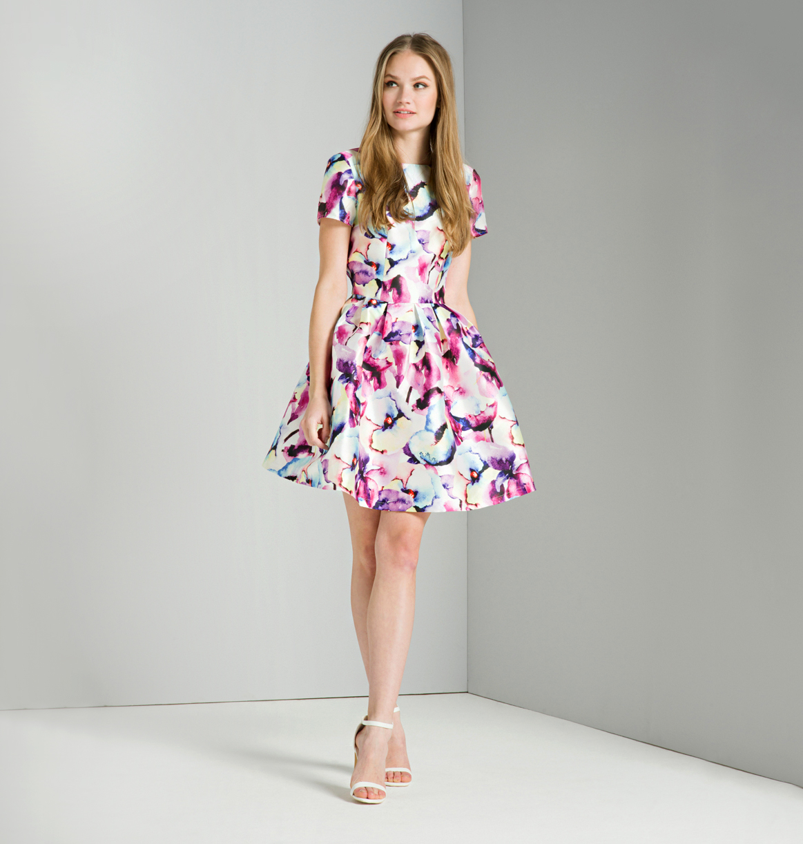chi chi london aubrey floral dress