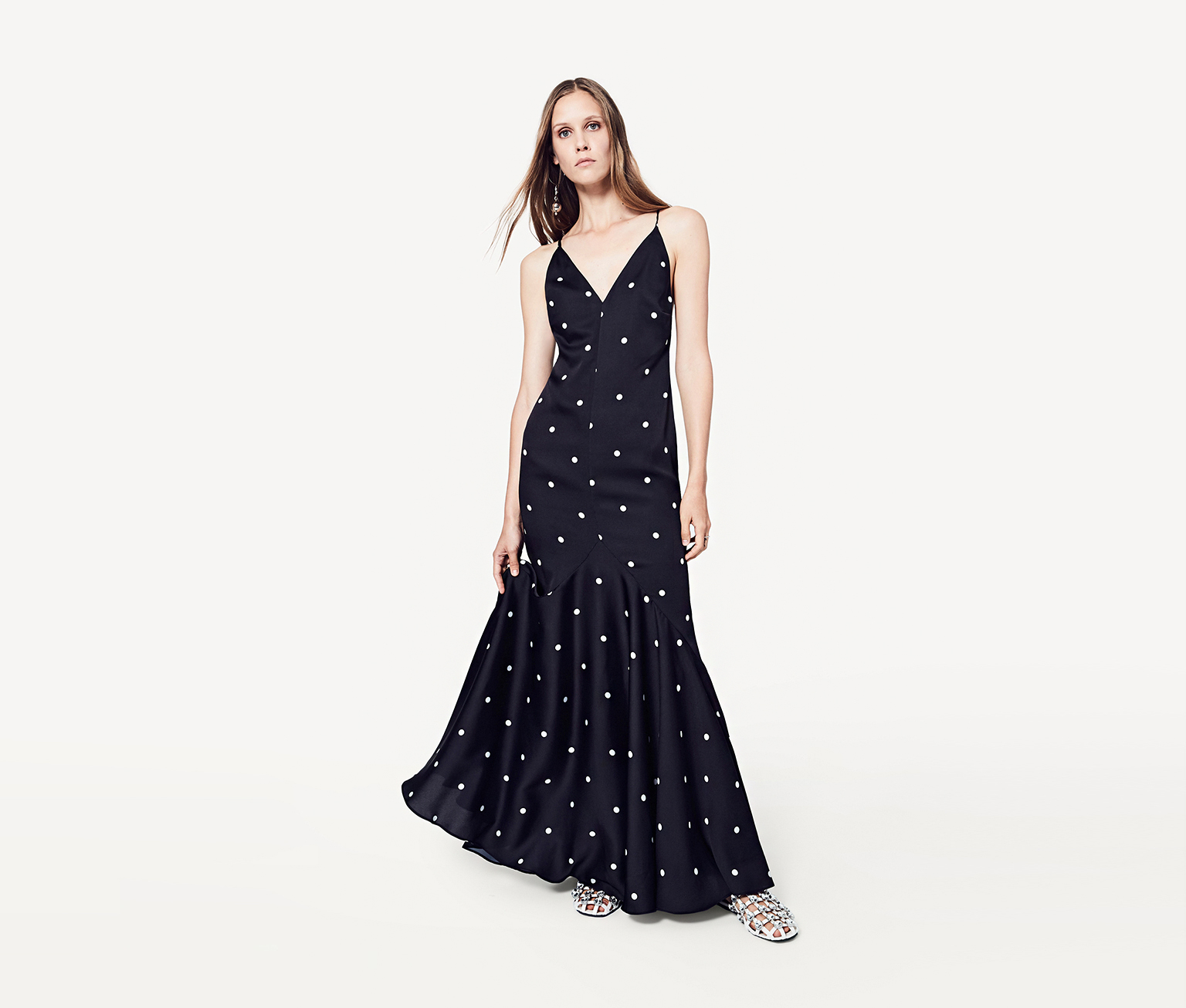fame and partners lulu maxi dress