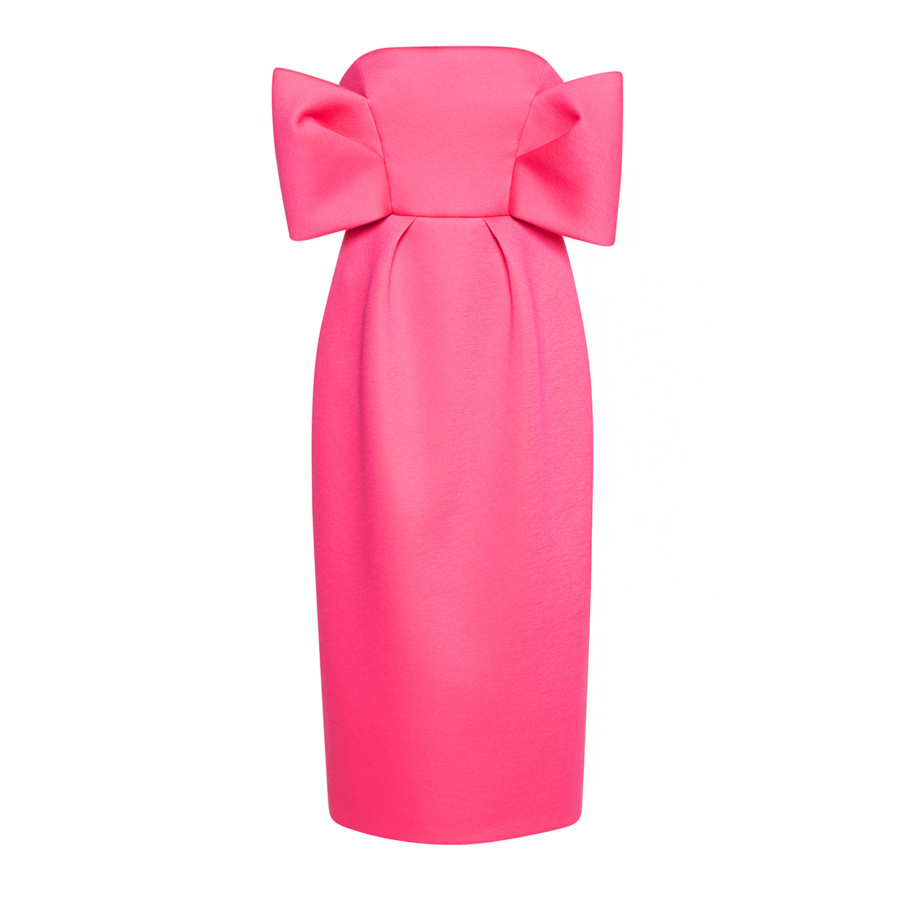 delpozo strapless dress with bows