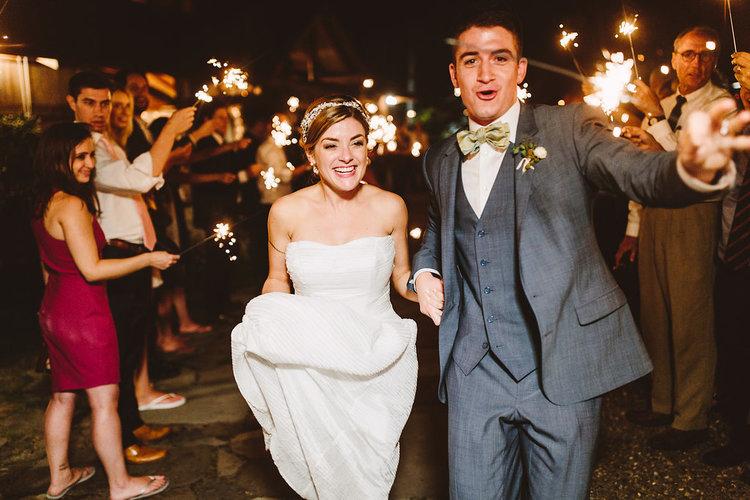 summer wedding details jove meyer events bride groom send off