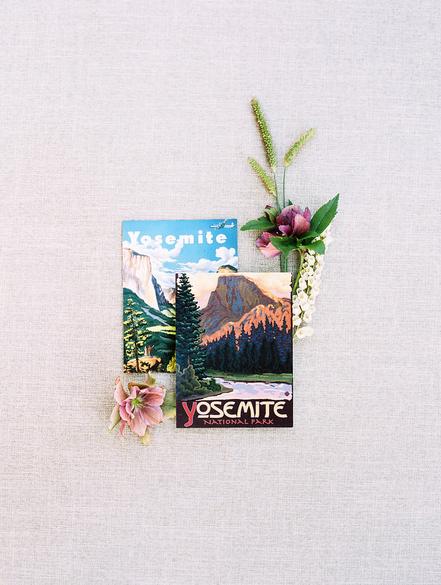 summer wedding details alison events yosemite postcards