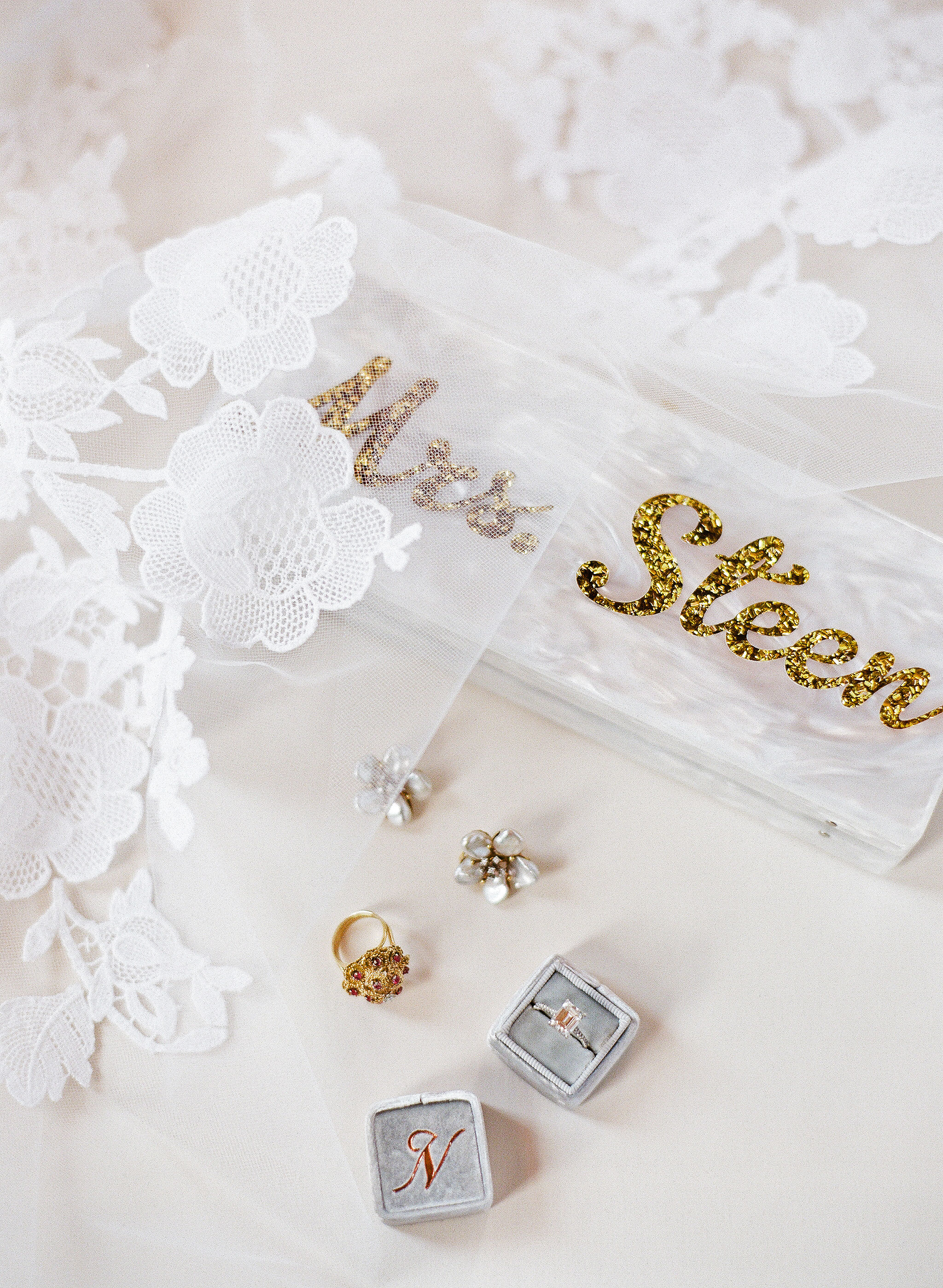 natalie jamey wedding clutch