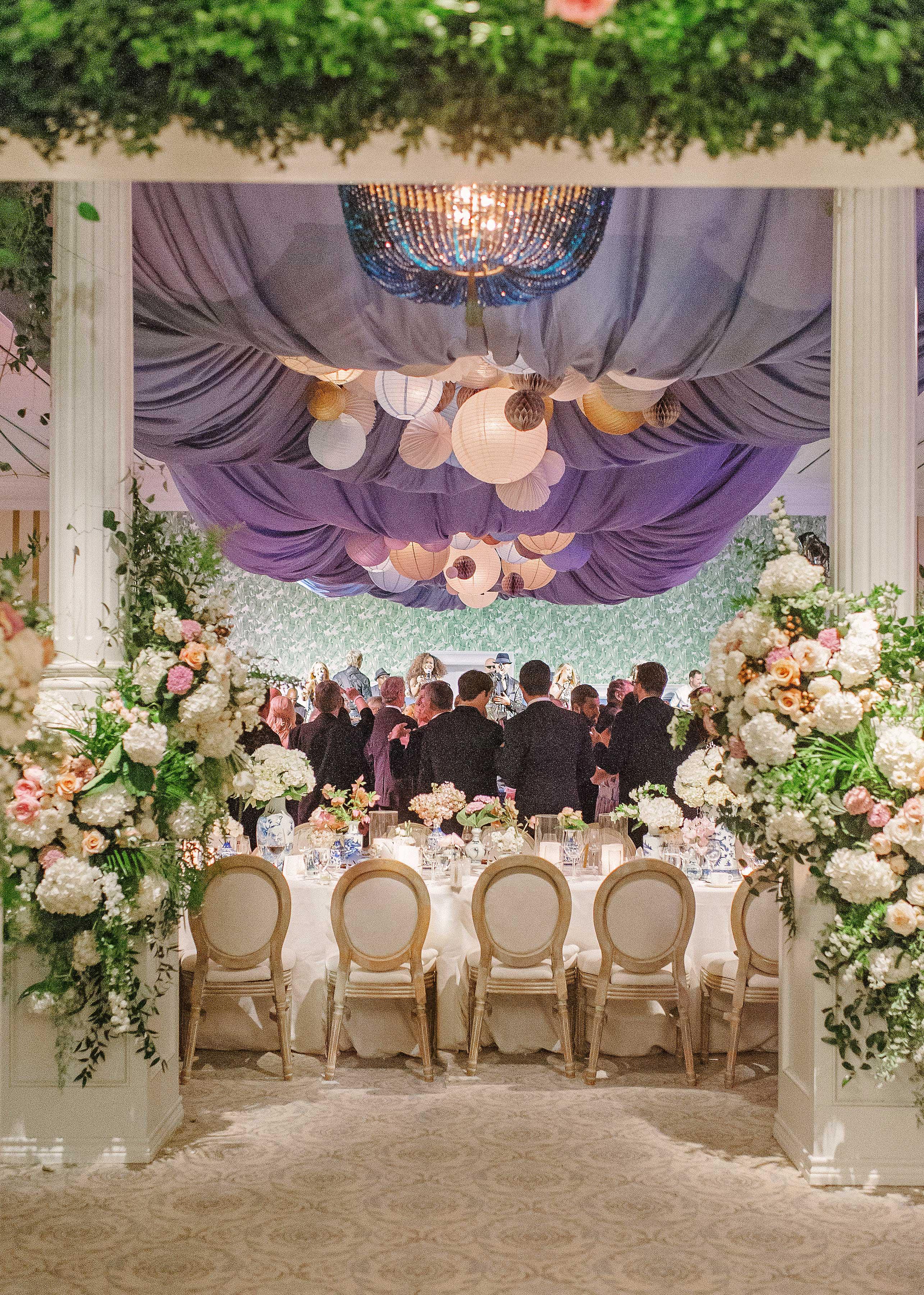 stefanie drew wedding reception