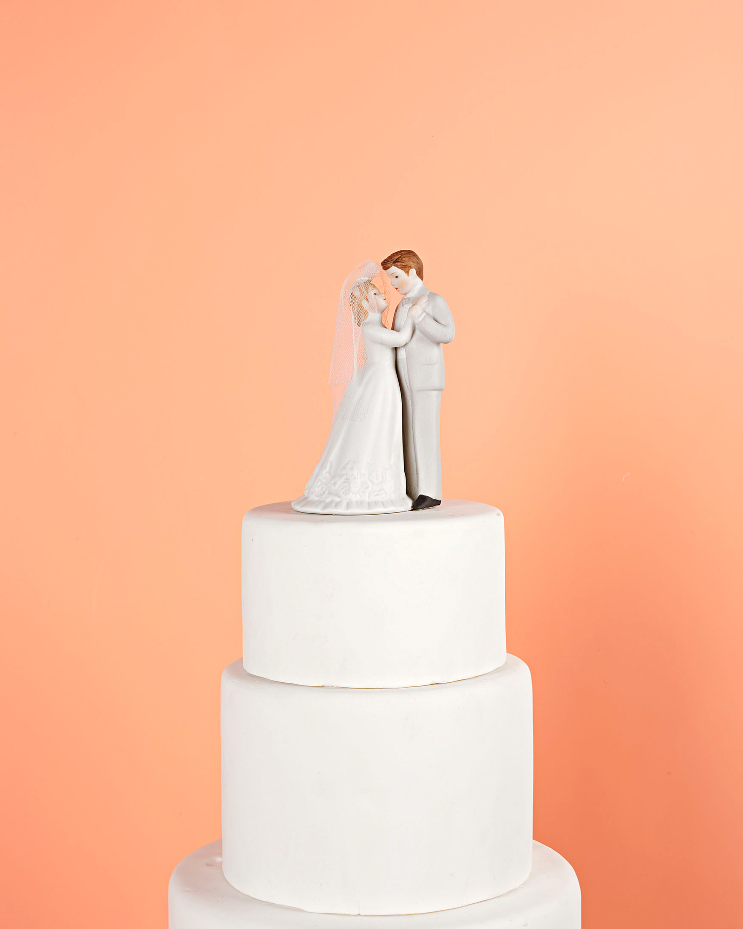 Loving Gaze Cake Topper