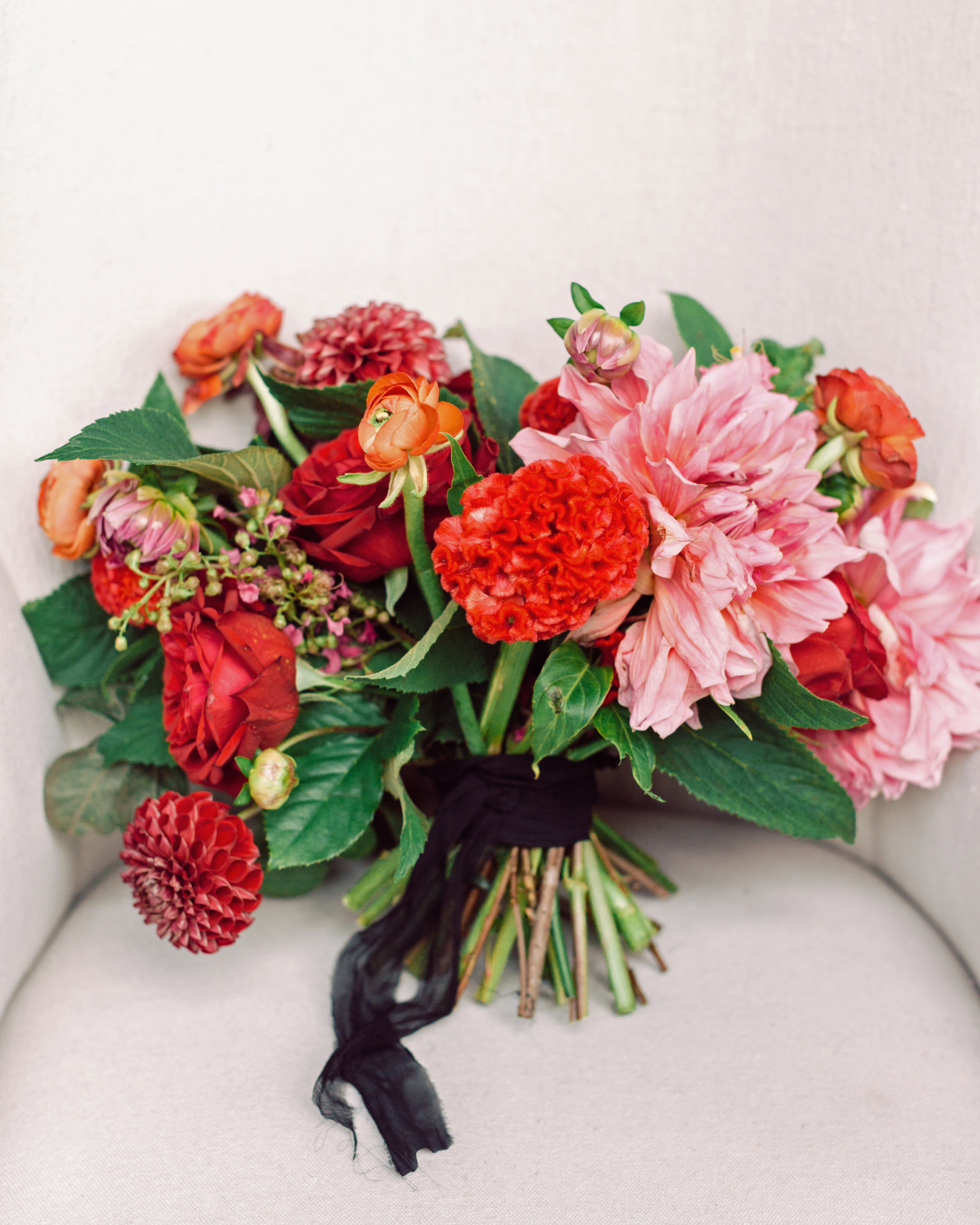 heat resistant bouquets bold hues