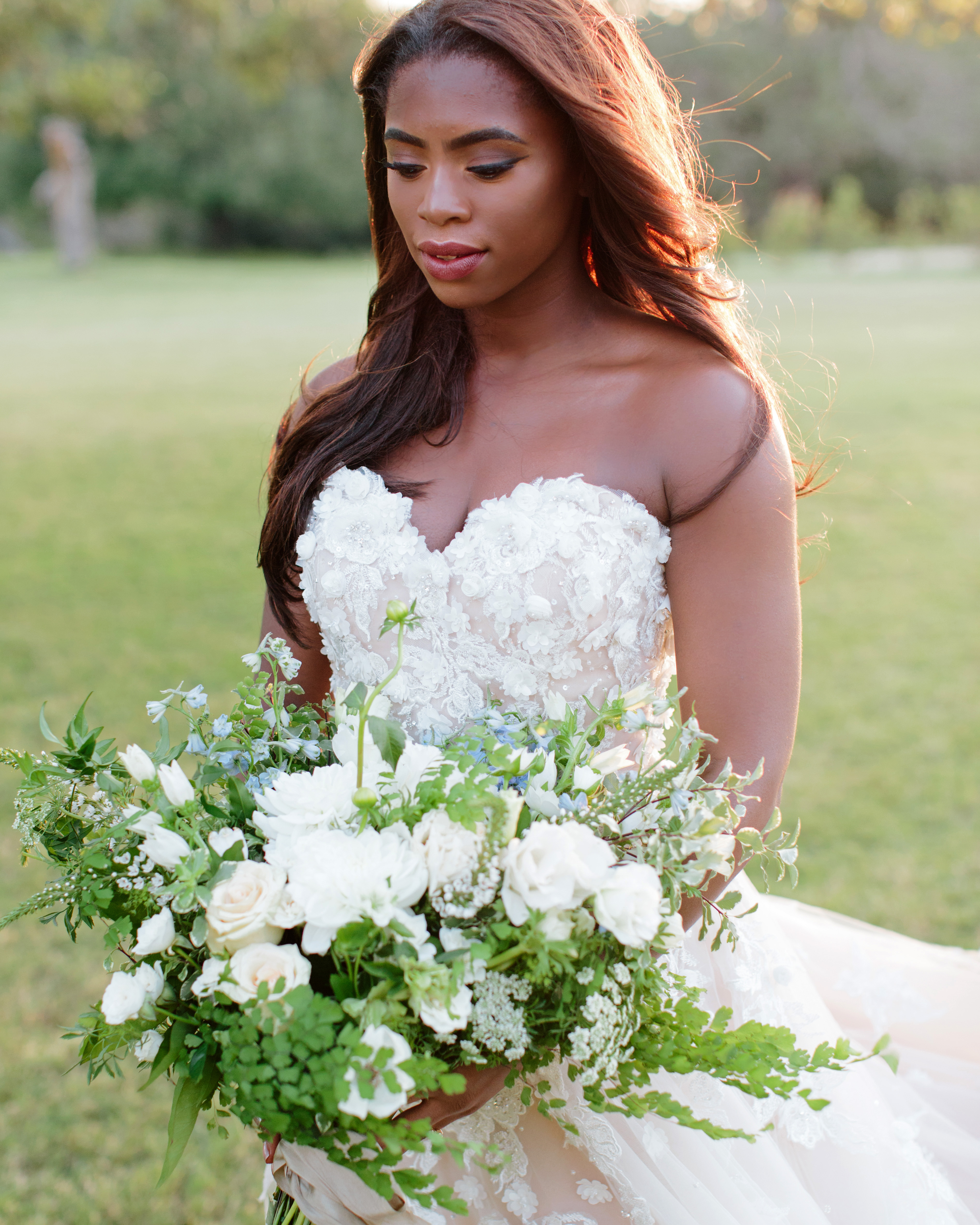 heat resistant bouquet all white creation wildflowers