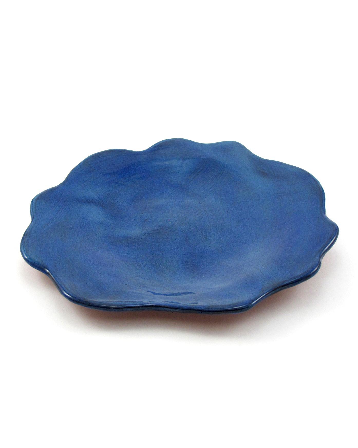 r. wood studio blueberry dinner plate