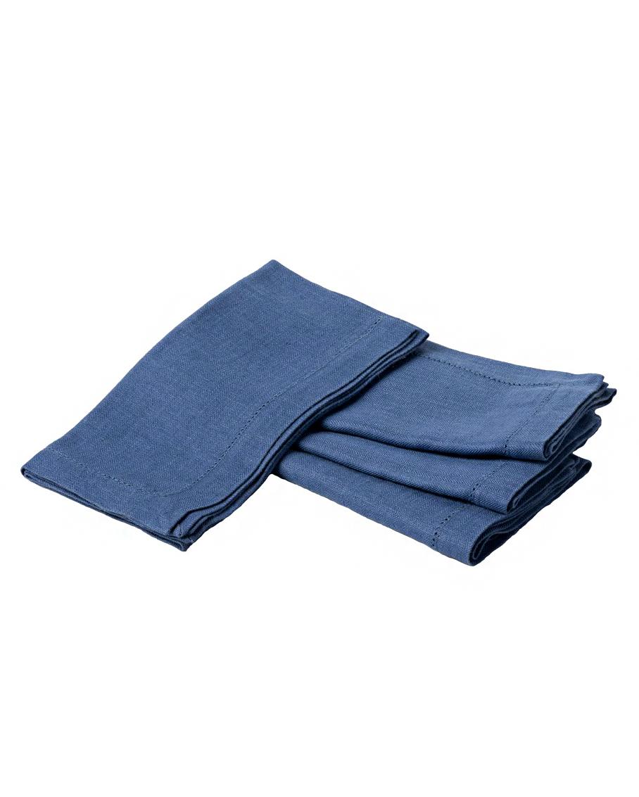 delft blue juliska heirloom linen napkin