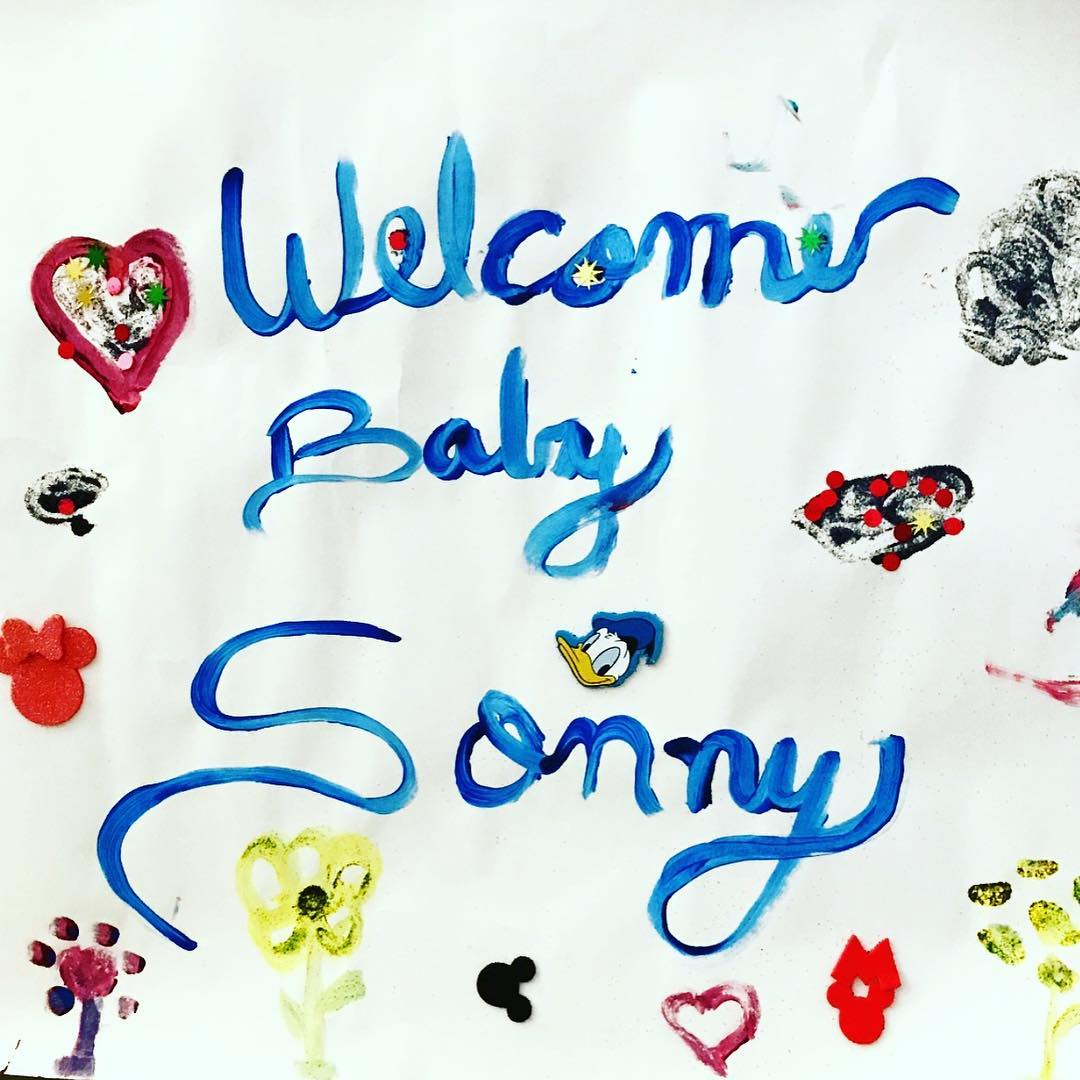 Whitney Port's birth announcement of new son Sonny Sanford