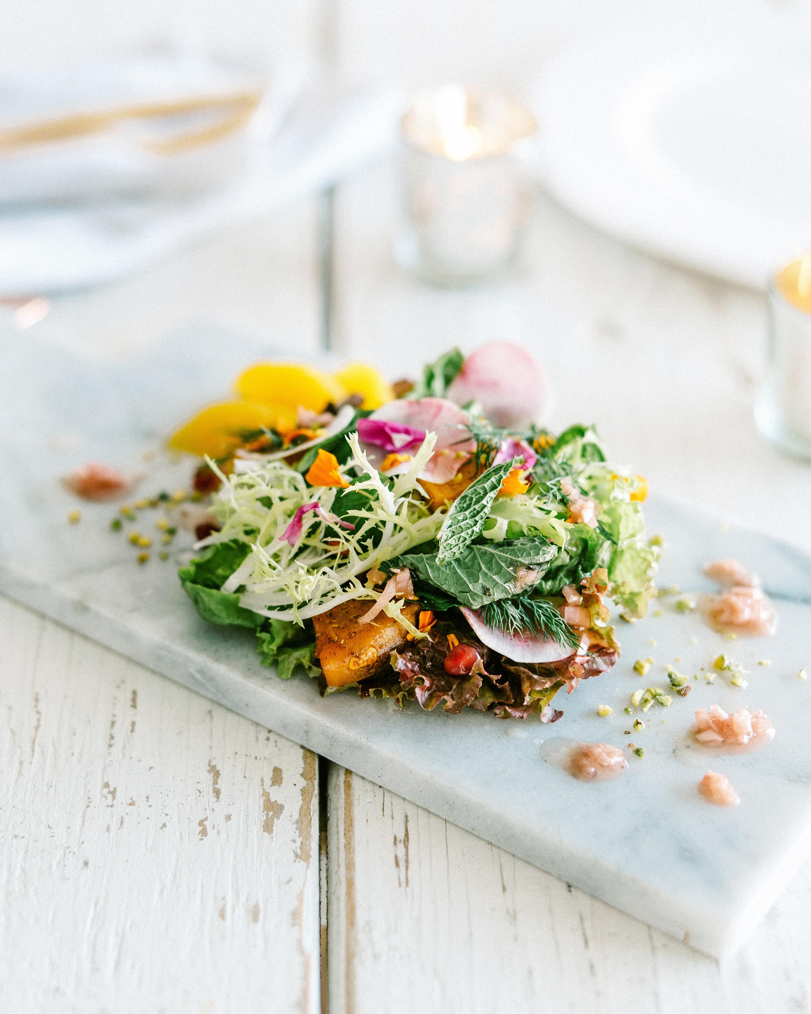 bright garden salad