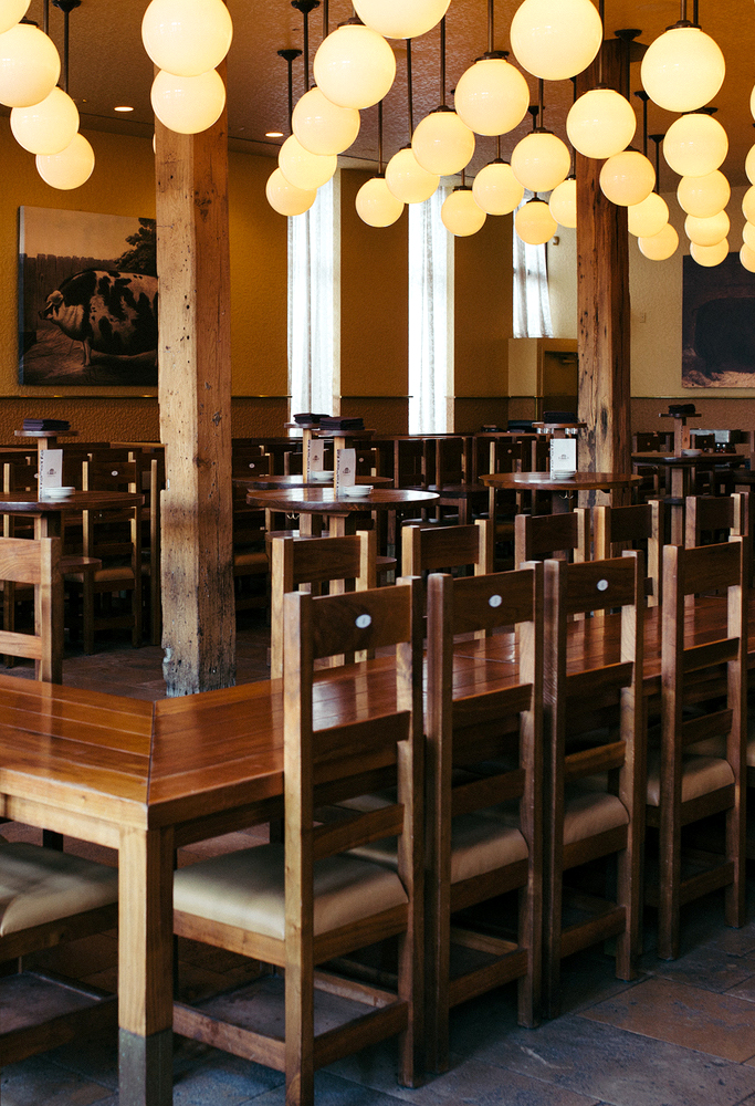 publican oyster bar tables and chairs