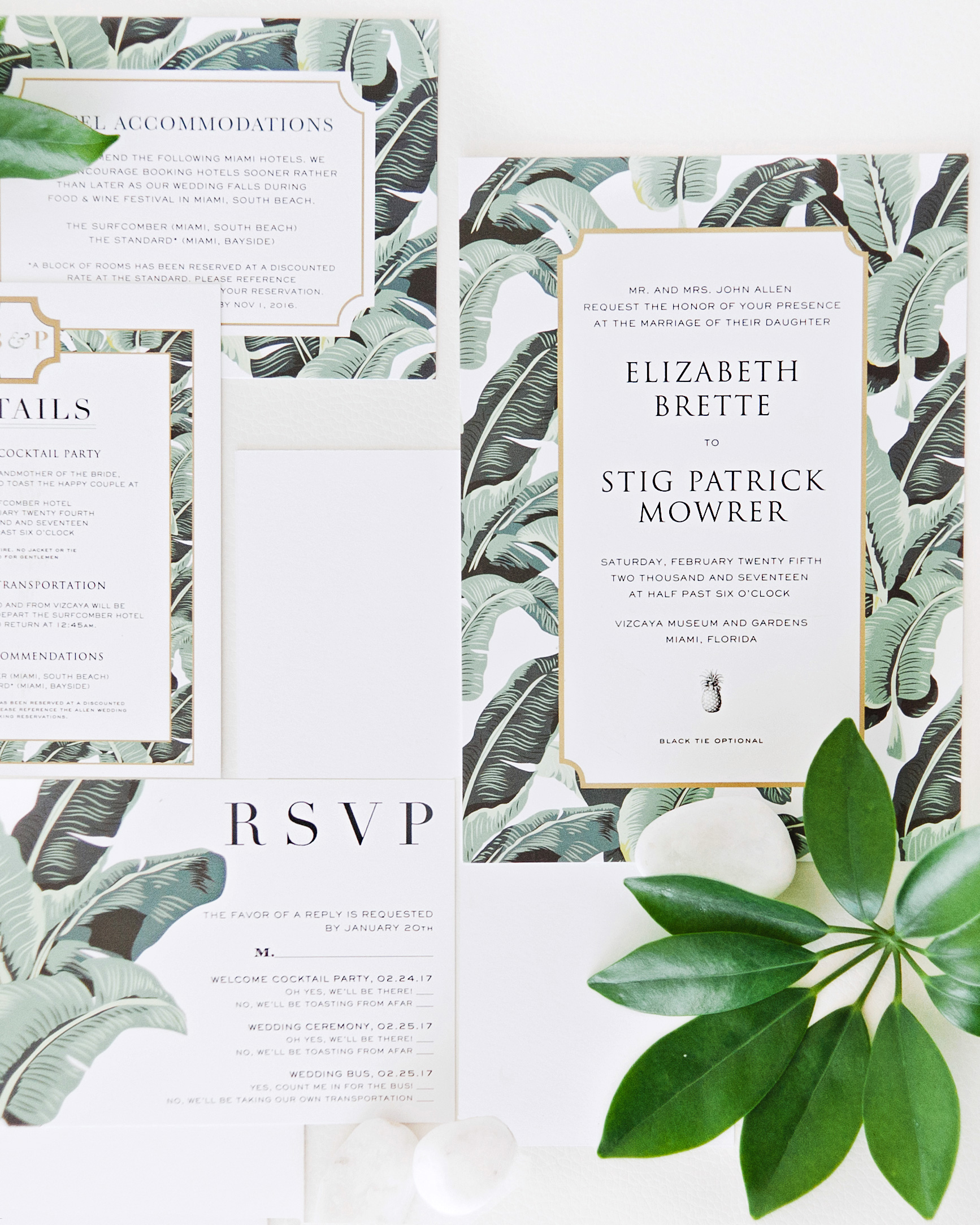 brette patrick wedding invites