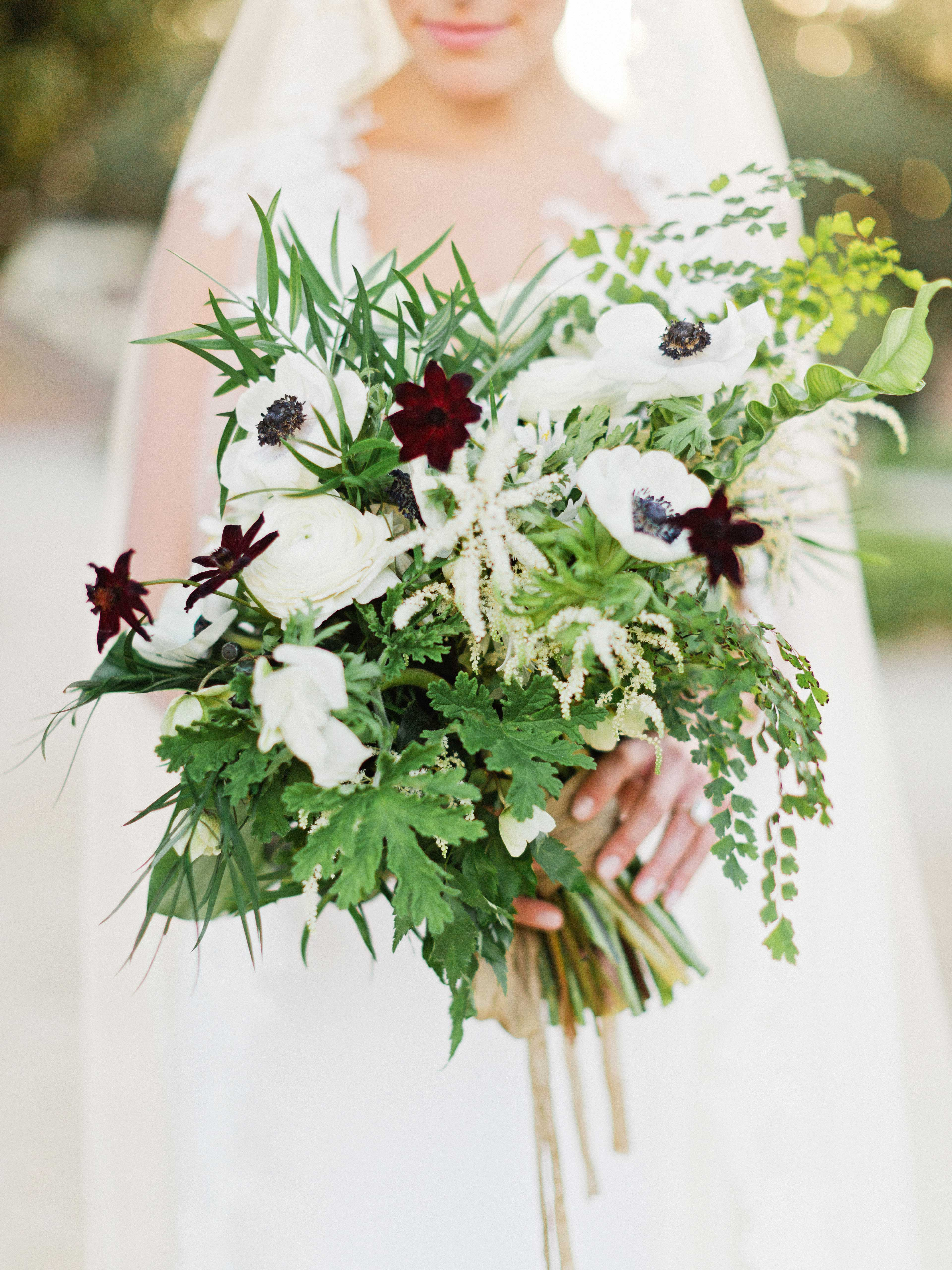 brette patrick wedding bouquet