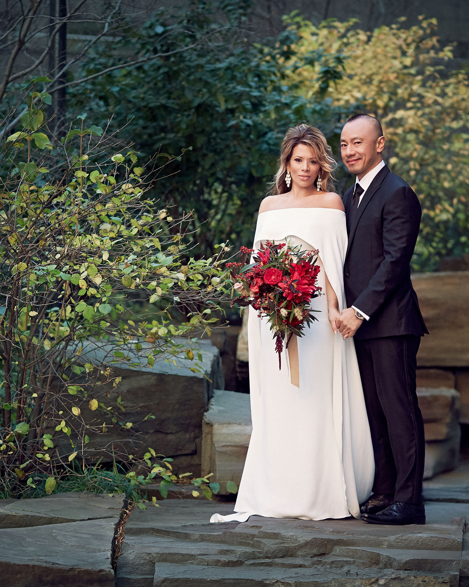 daisy eugene wedding couple portrait