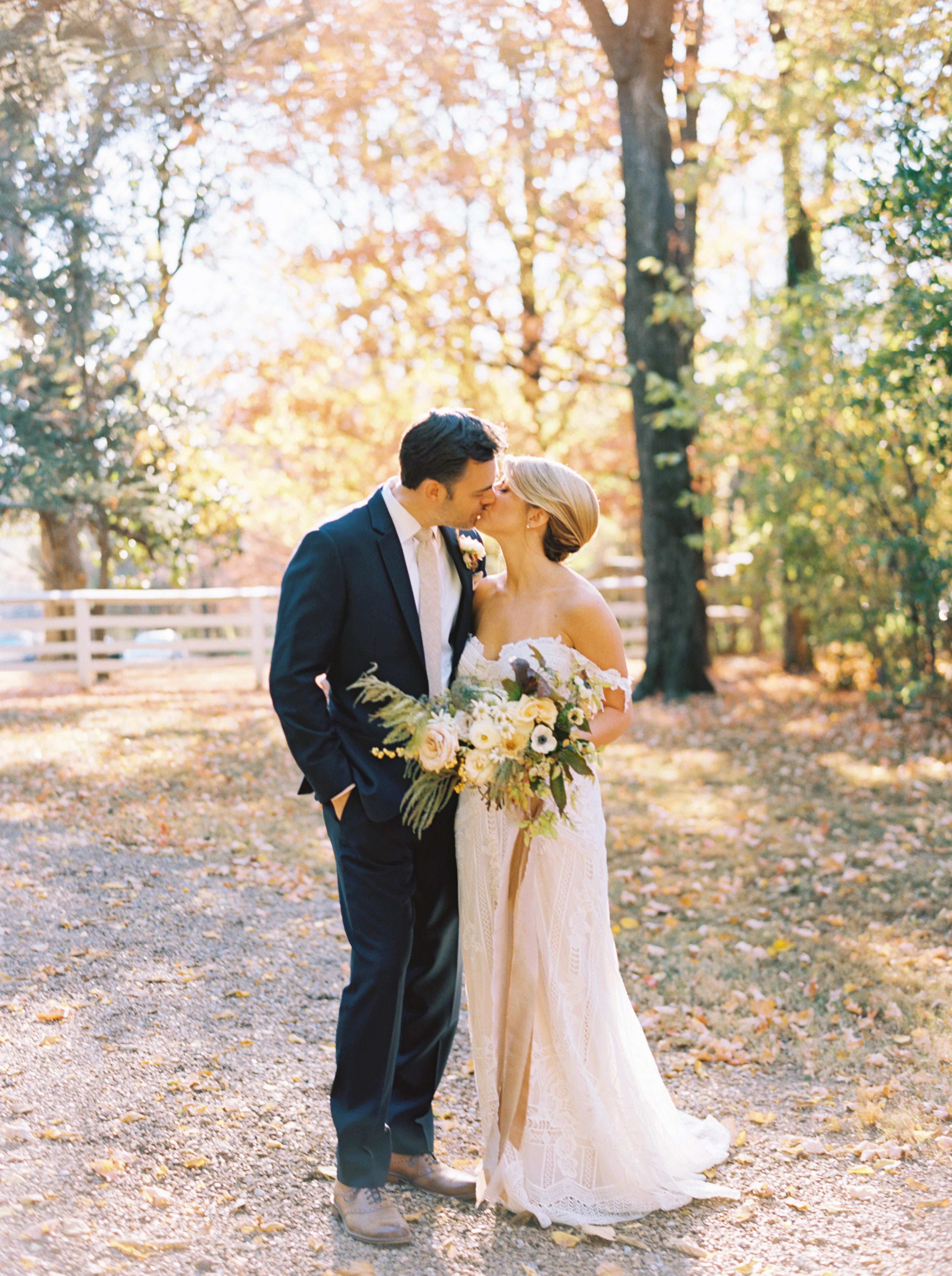 jayme barry wedding couple kiss