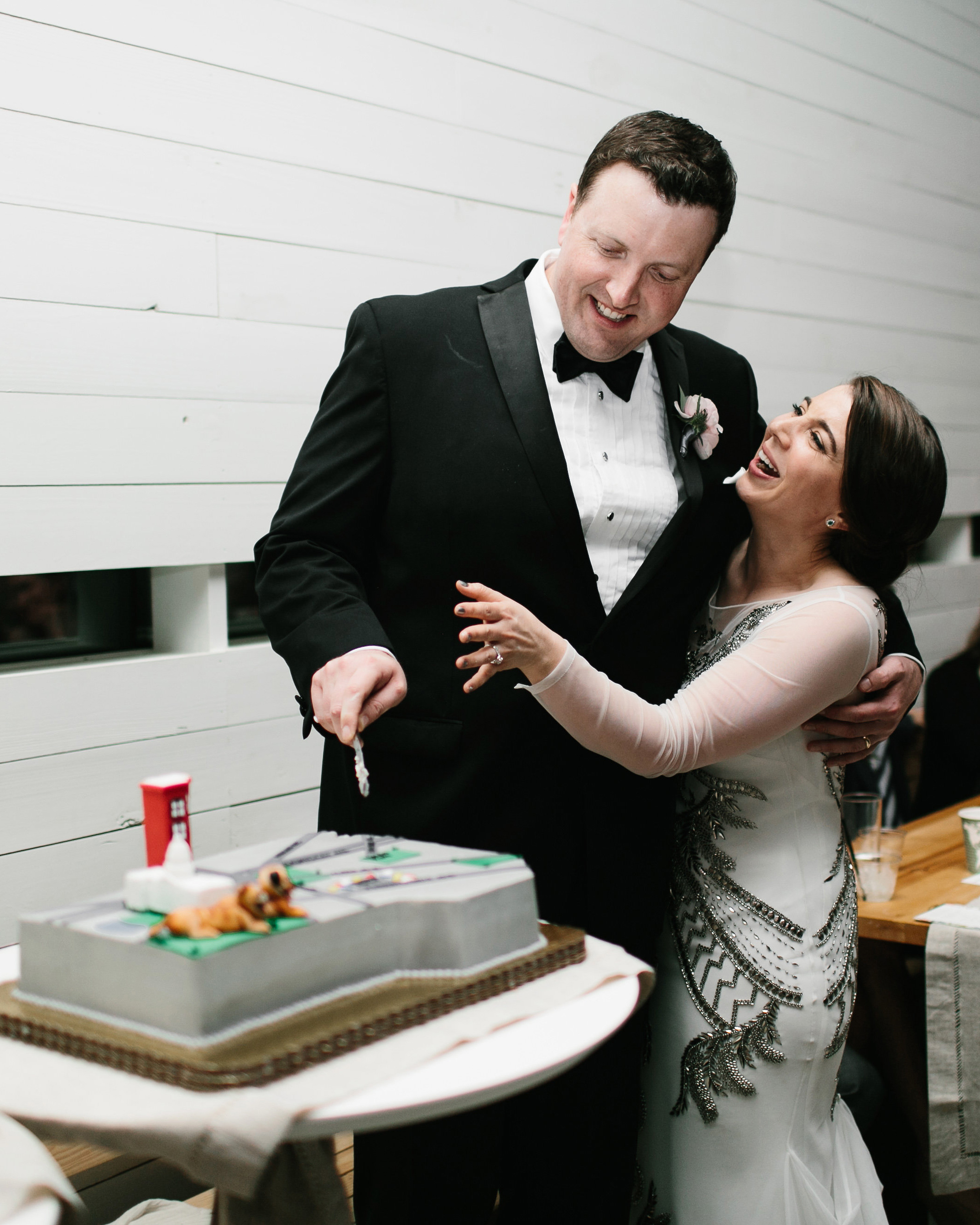 wedding groomscake