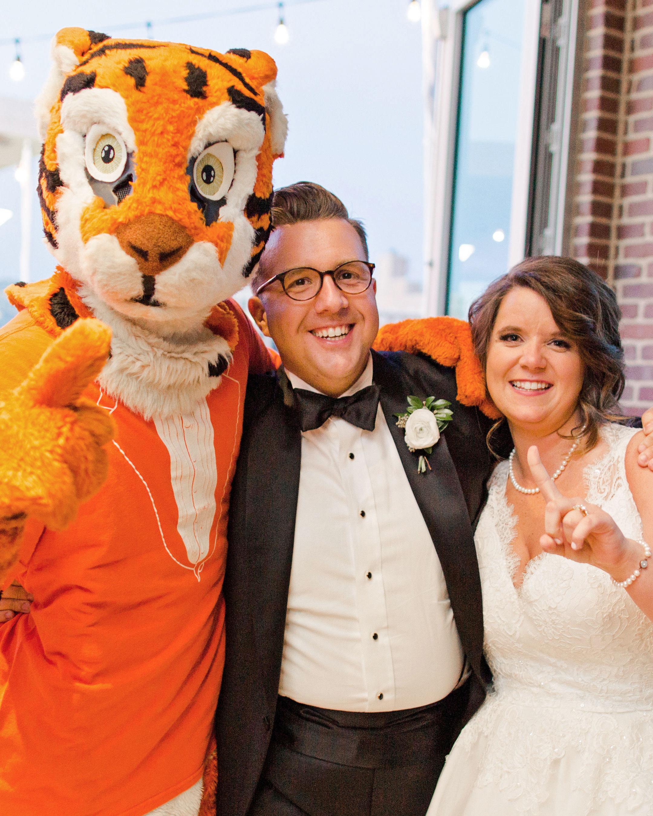 carey jared wedding mascot