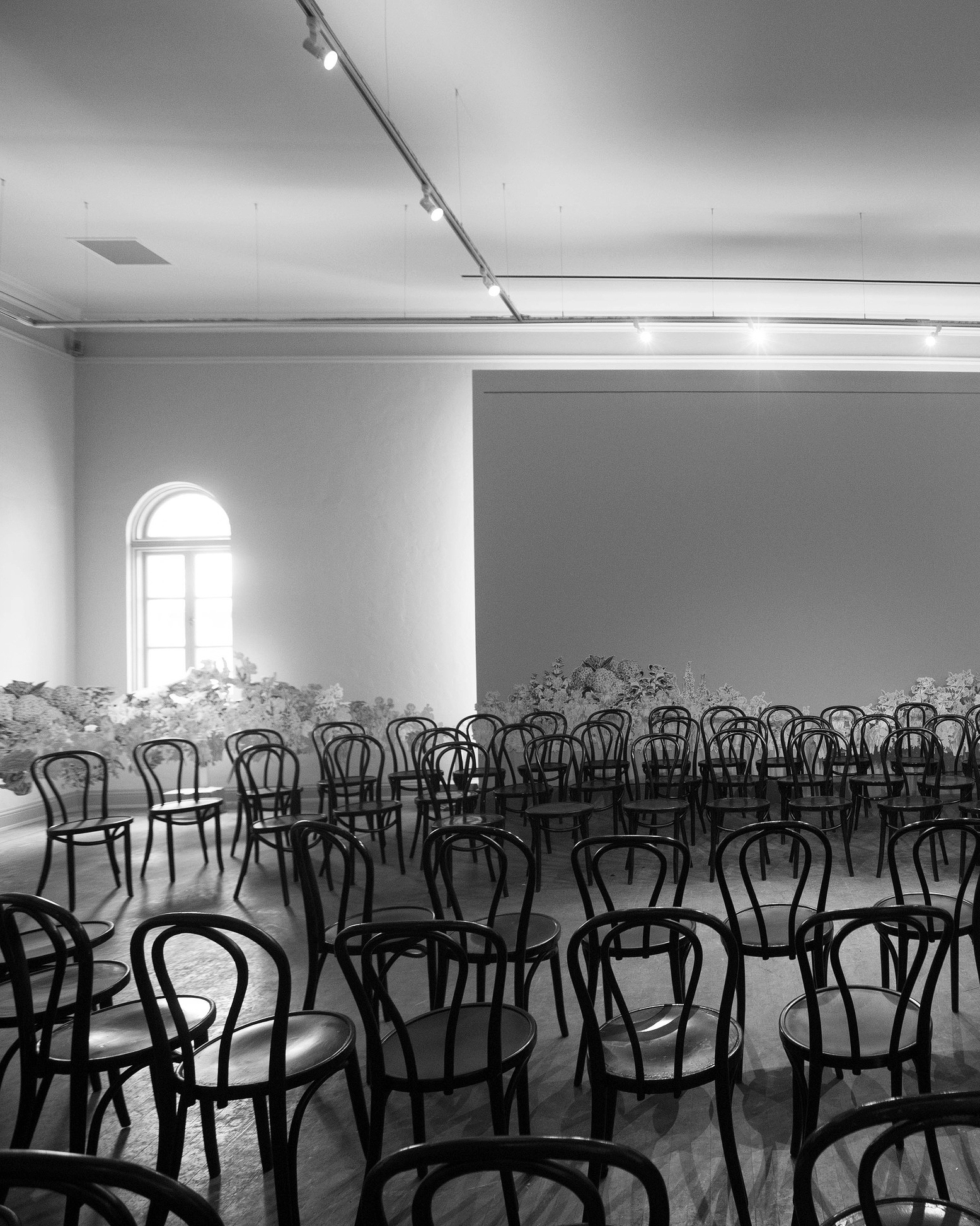 ceremony space chairs