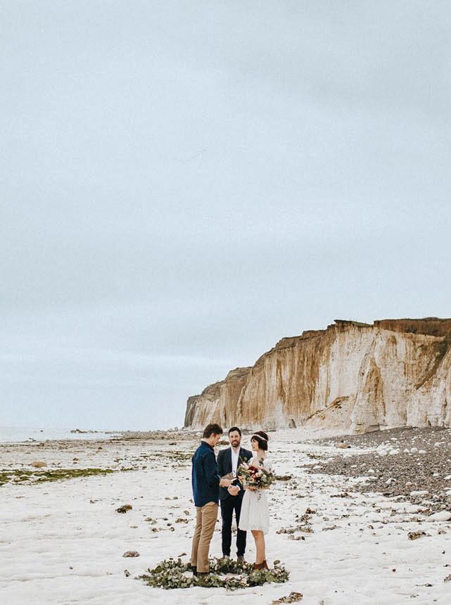 epic elopement locations normandy france