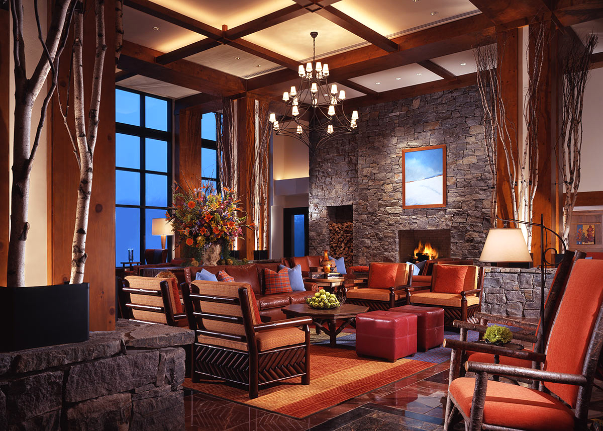 stowe mountain lodge lobby