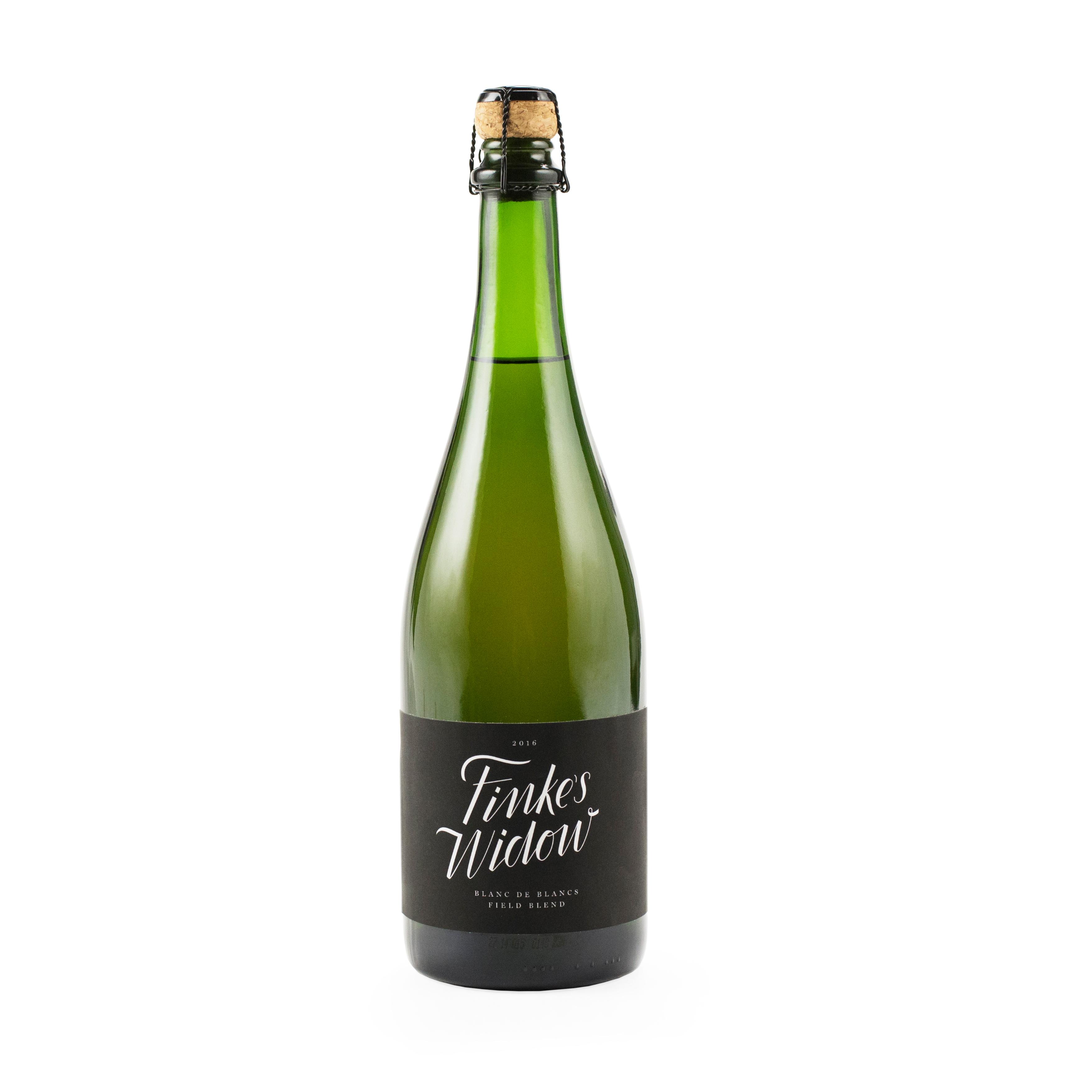 Finke's Widow Winc Champagne