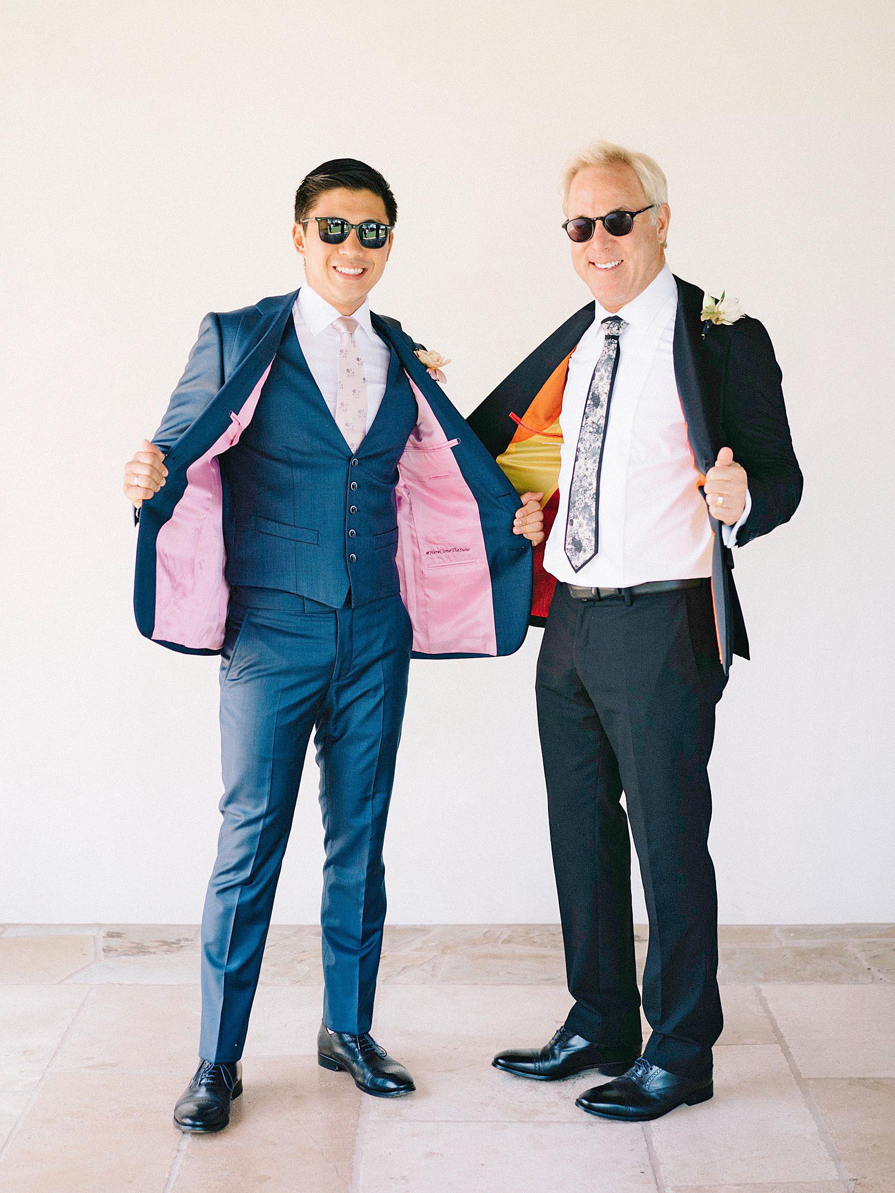 perri phil wedding suits
