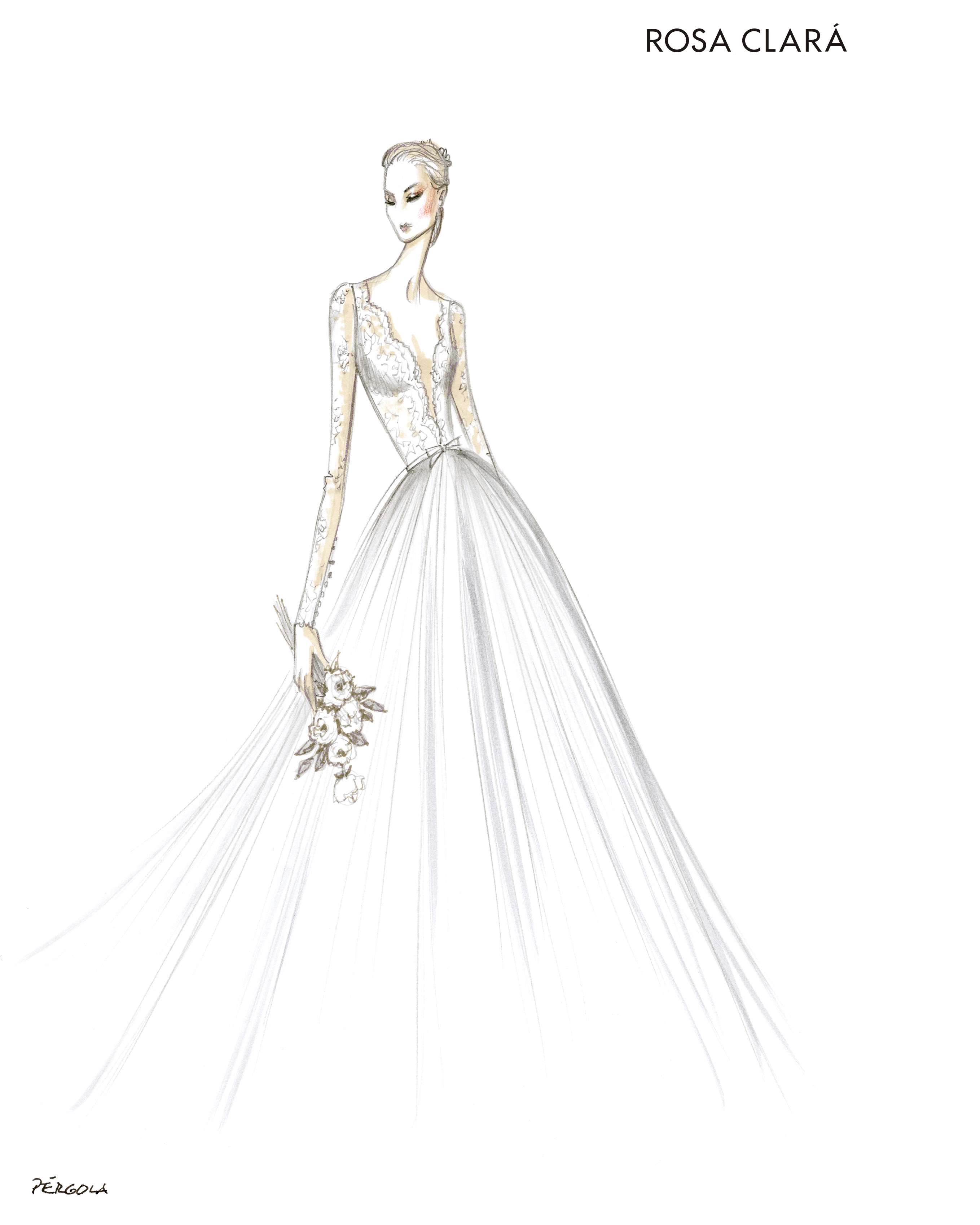 Exclusive Get A First Look At The Fall 2018 Bridal Collections