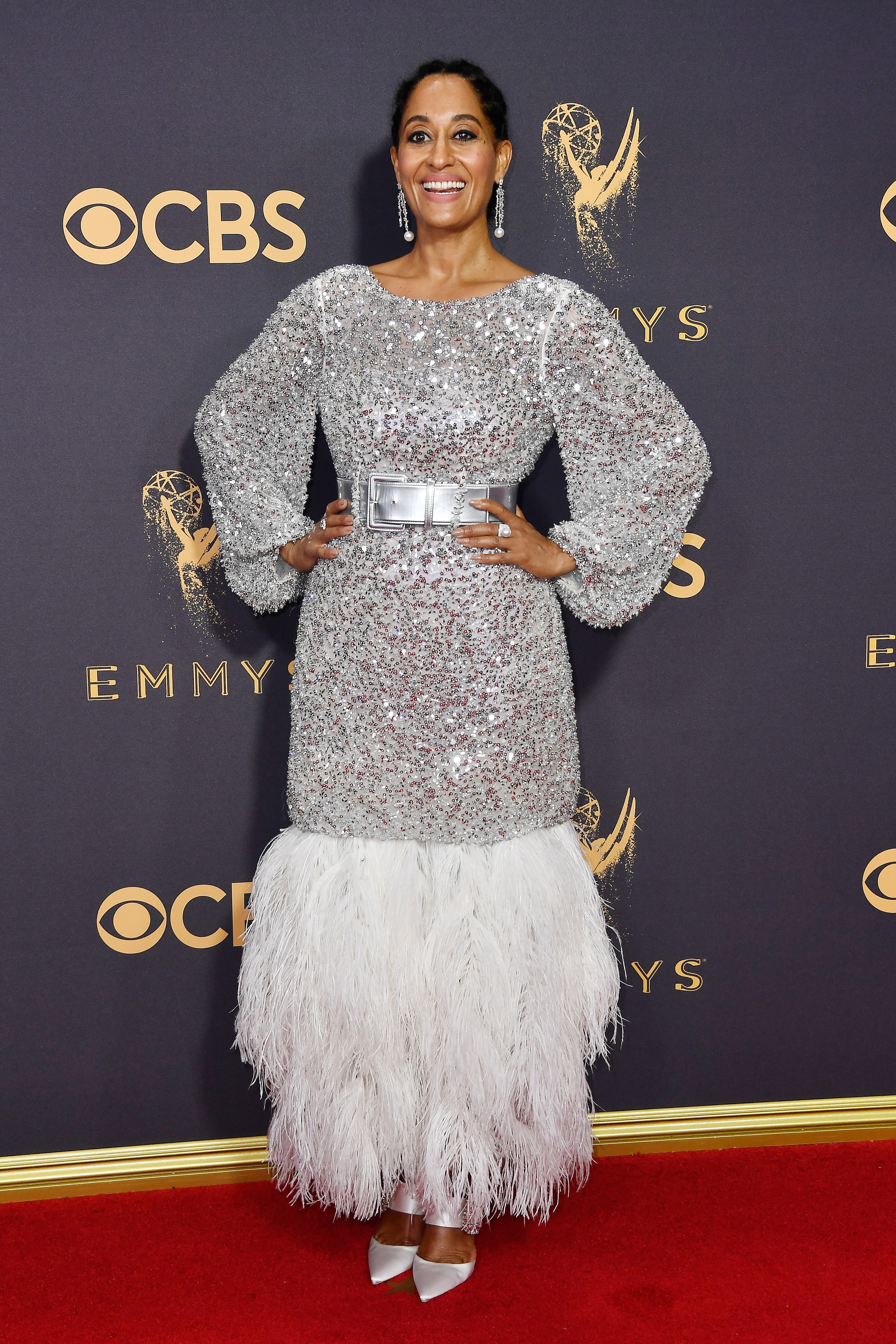 Tracee Ellis Ross Emmys Red Carpet 2017