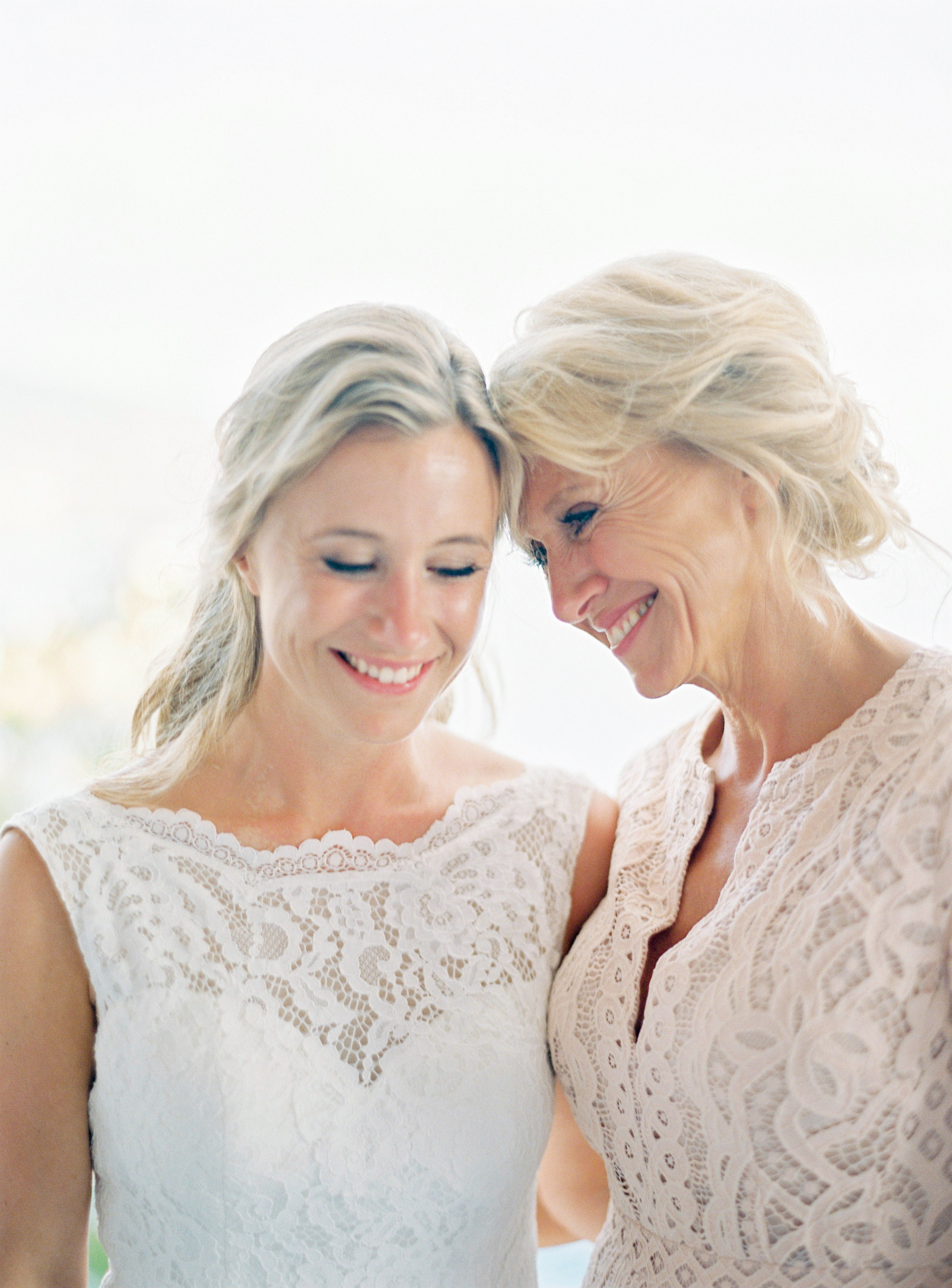 A Bride and Her Mother