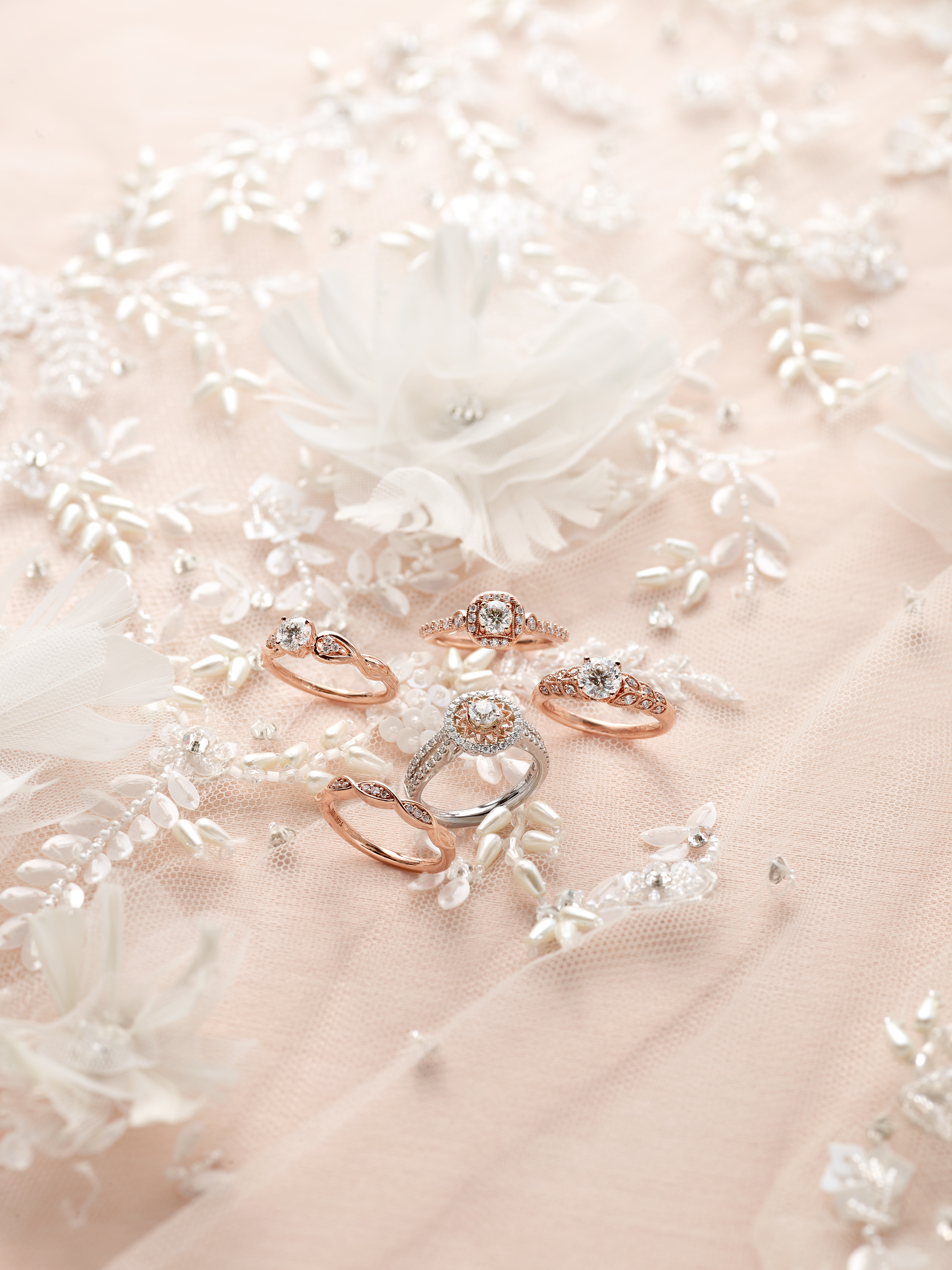 Marchesa Radiant Star Ring Collection
