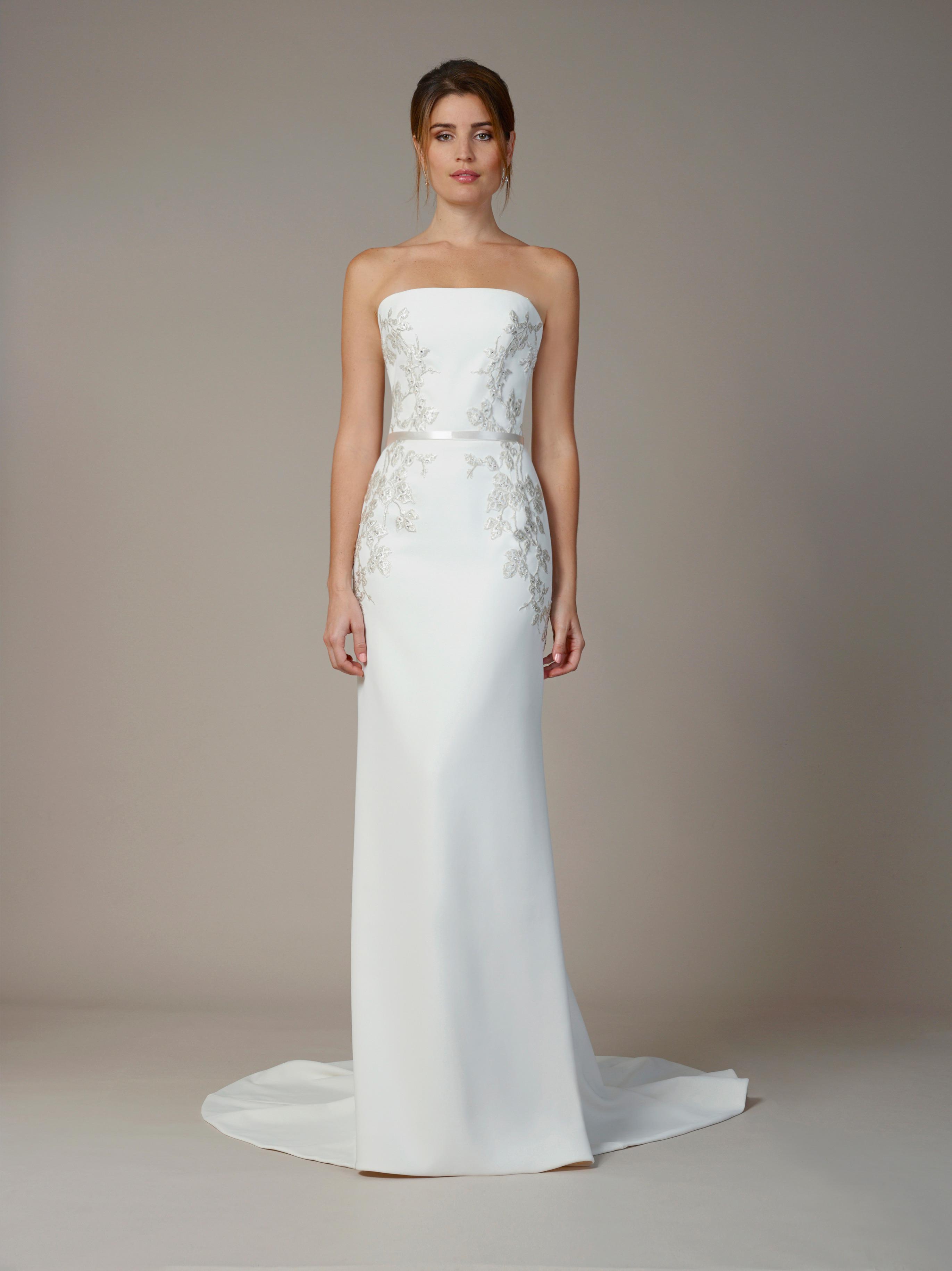 liancarlo wedding dress fall 2018 strapless
