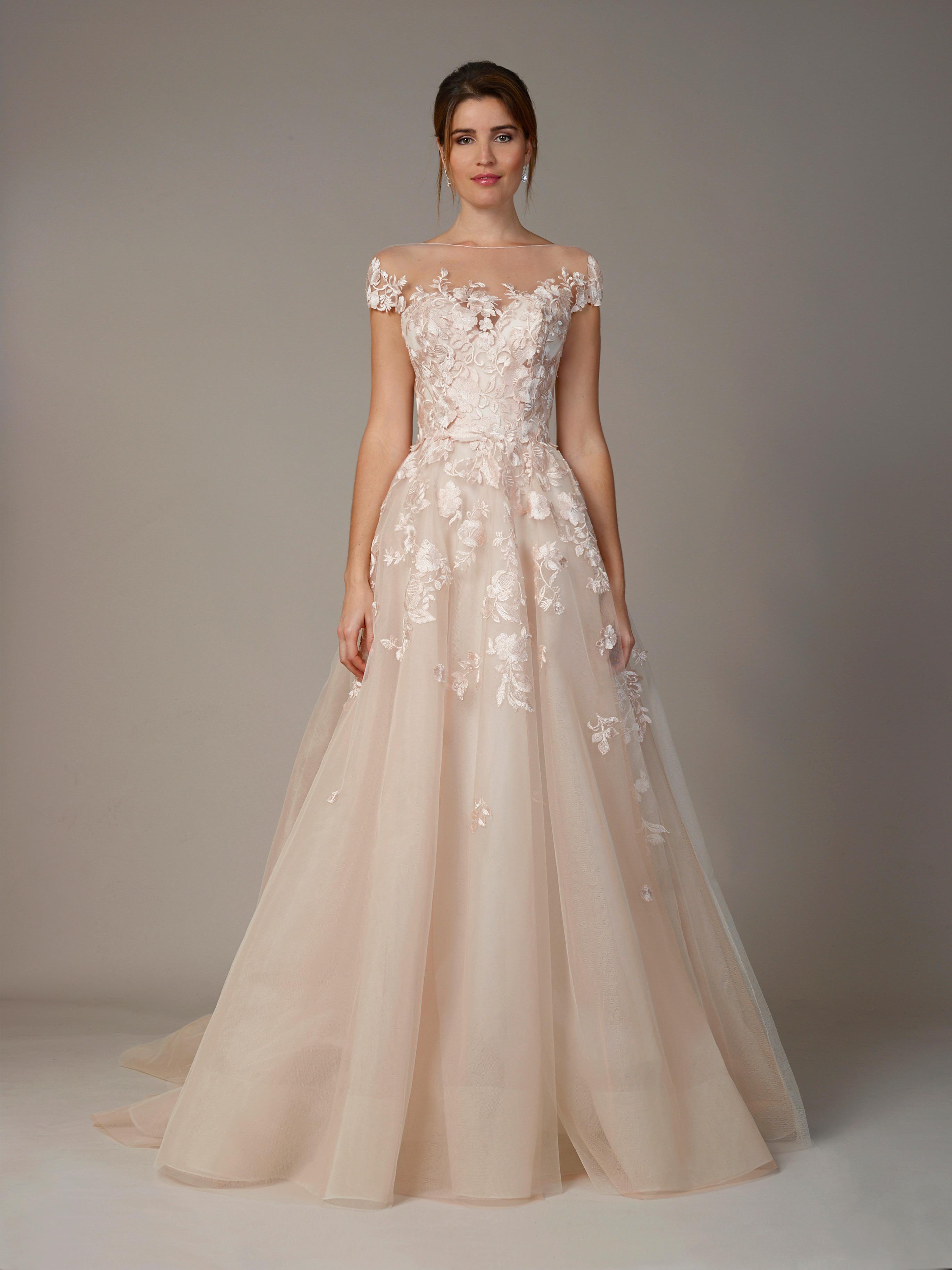 liancarlo wedding dress fall 2018 off the shoulder sweetheart