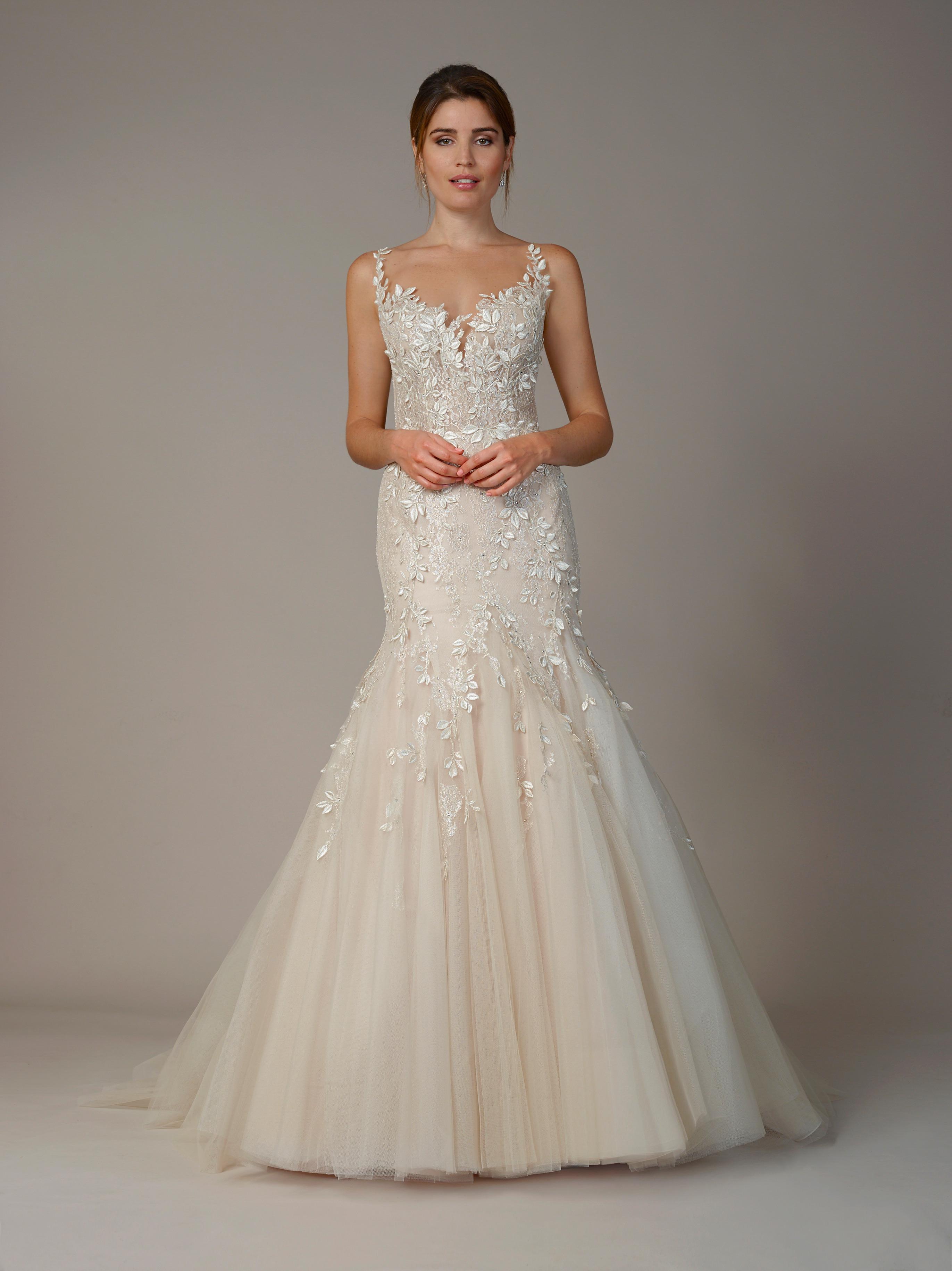 liancarlo wedding dress fall 2018 champagne mermaid
