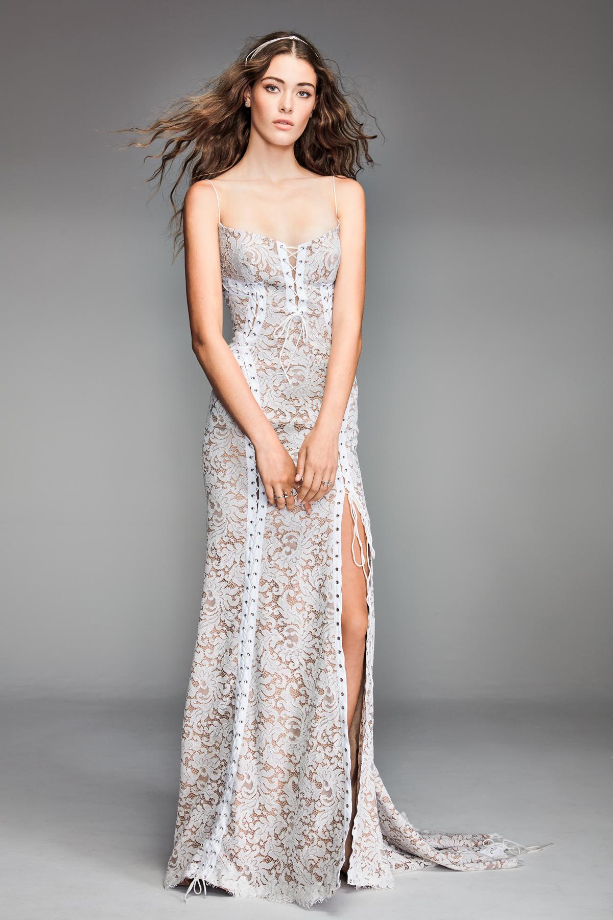 willowby by watters 2018 spaghetti strap lace wedding dress