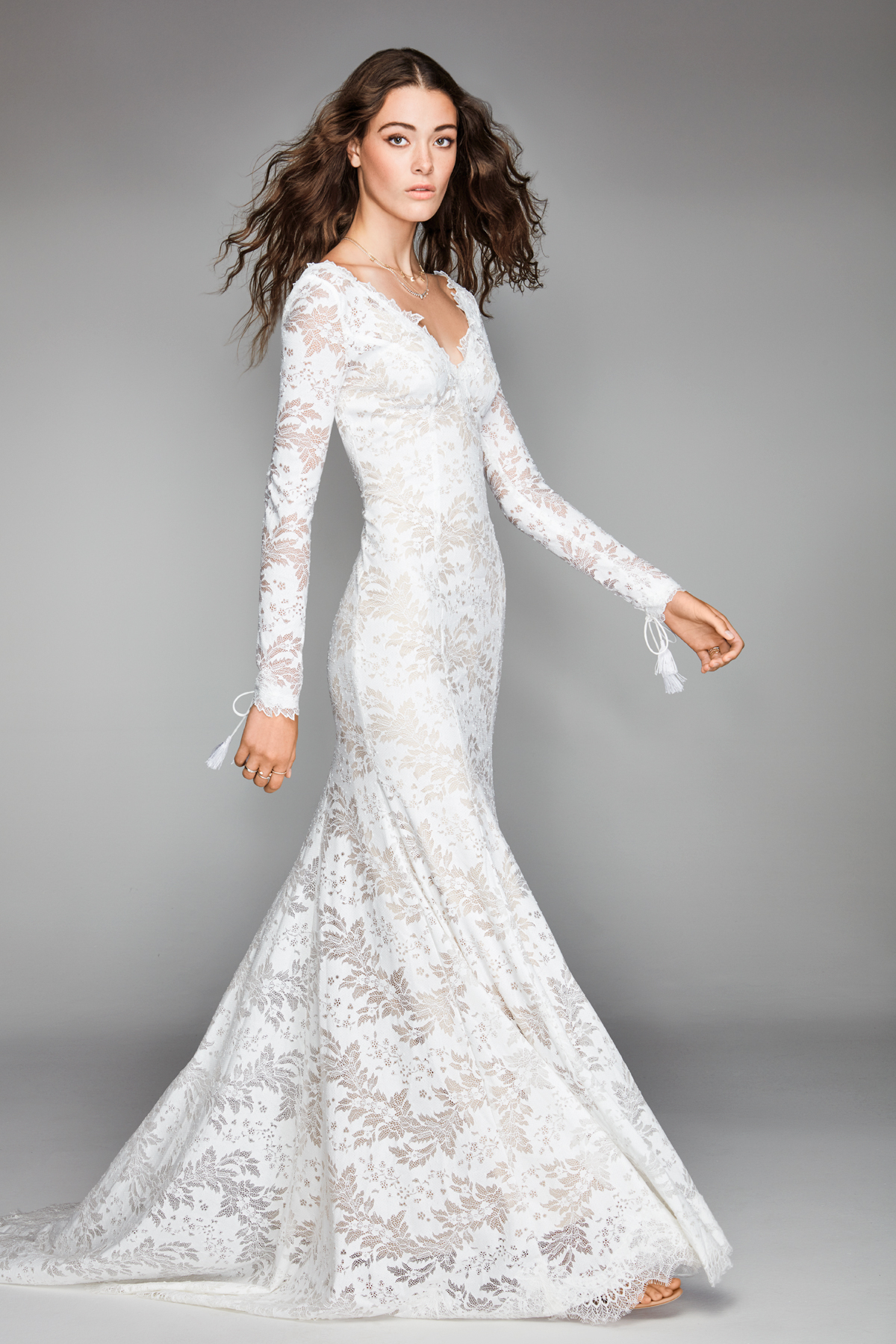 willowby by watters 2018 long sleeve lace wedding dress