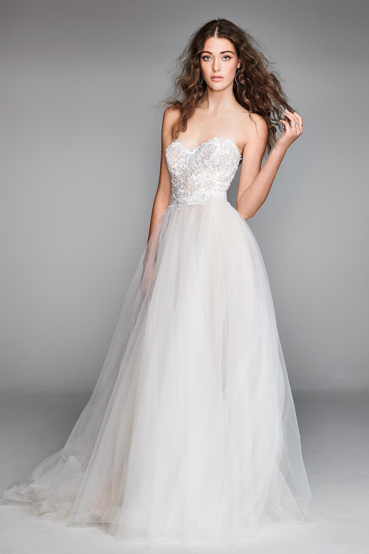 willowby by watters 2018 sweetheart chiffon wedding dress