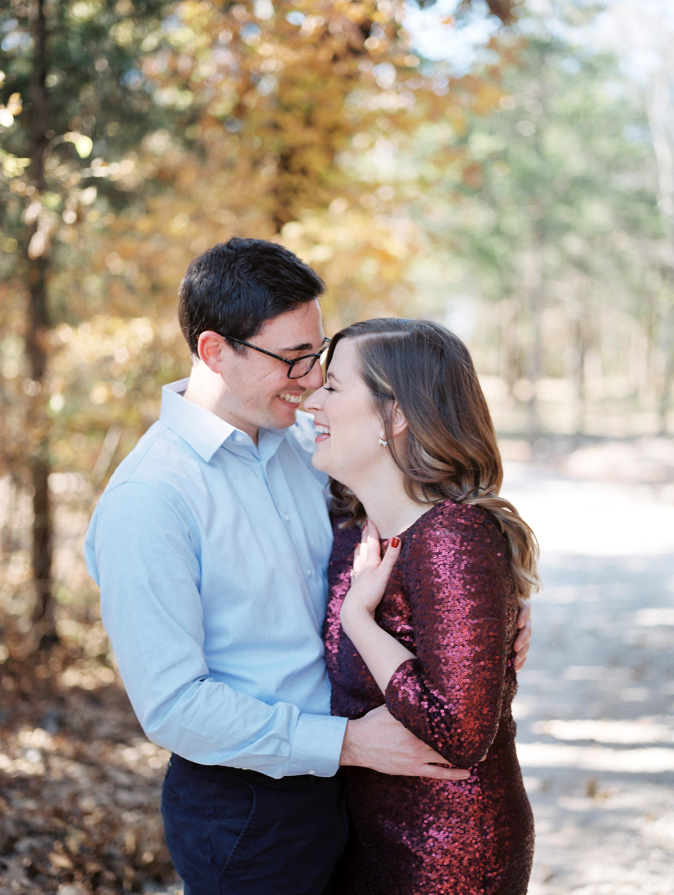 couple fall portrait