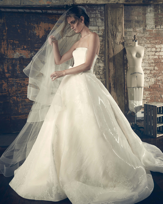sareh nouri fall 2018 ballgown wedding dress