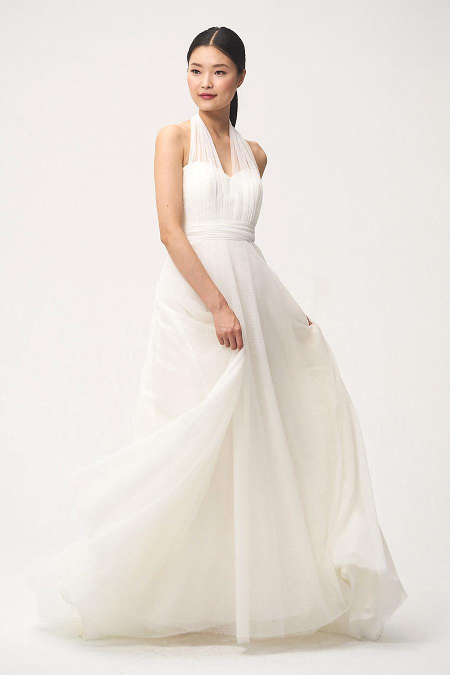 jenny by jenny yoo fall 2018 sweetheart halter wedding dress