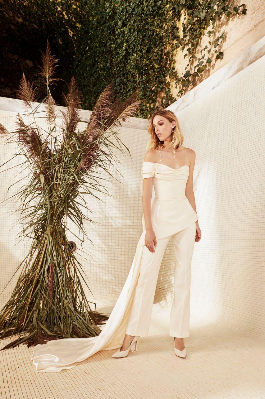 danielle frankel wedding dress