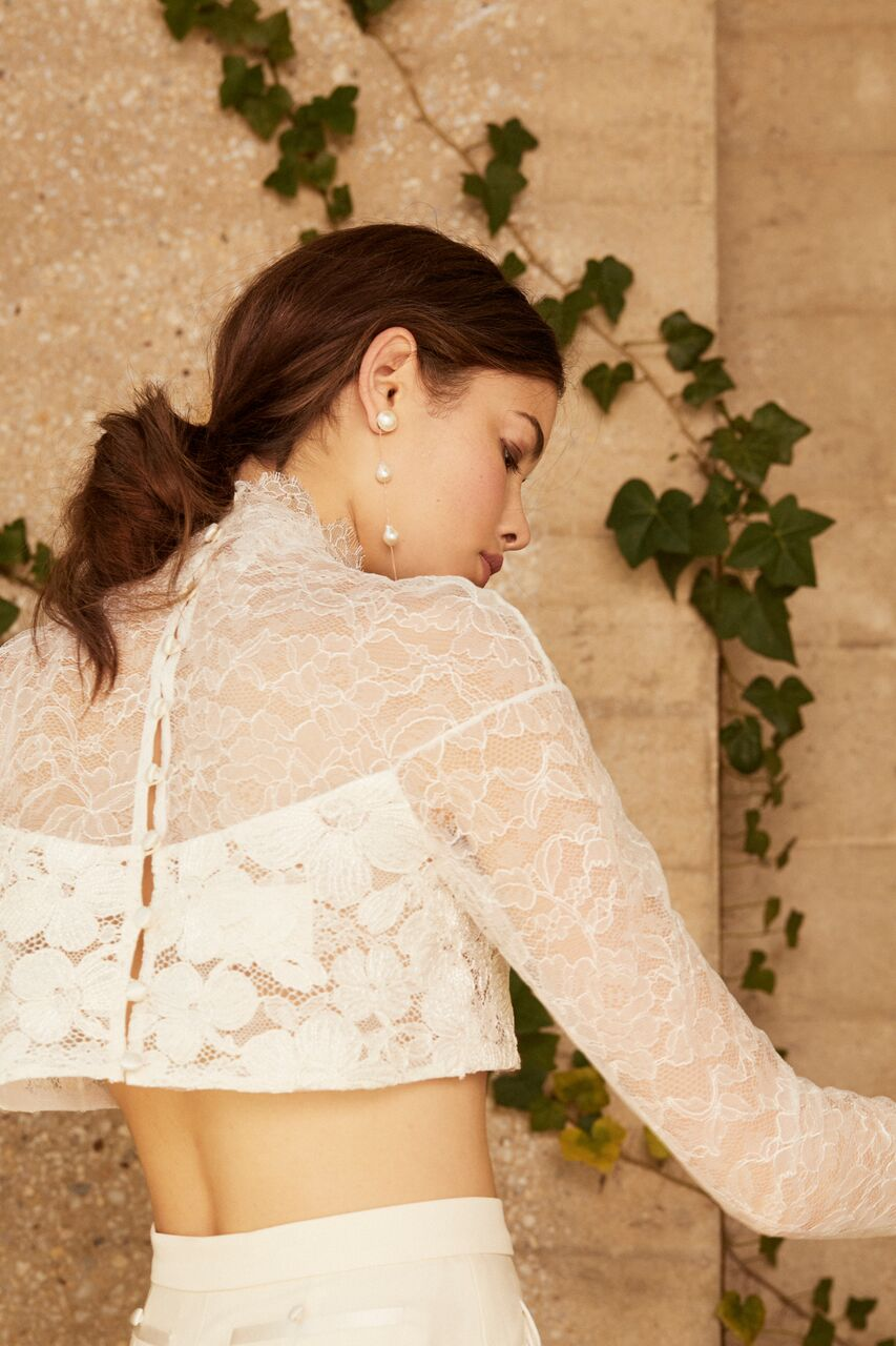 danielle frankel wedding top