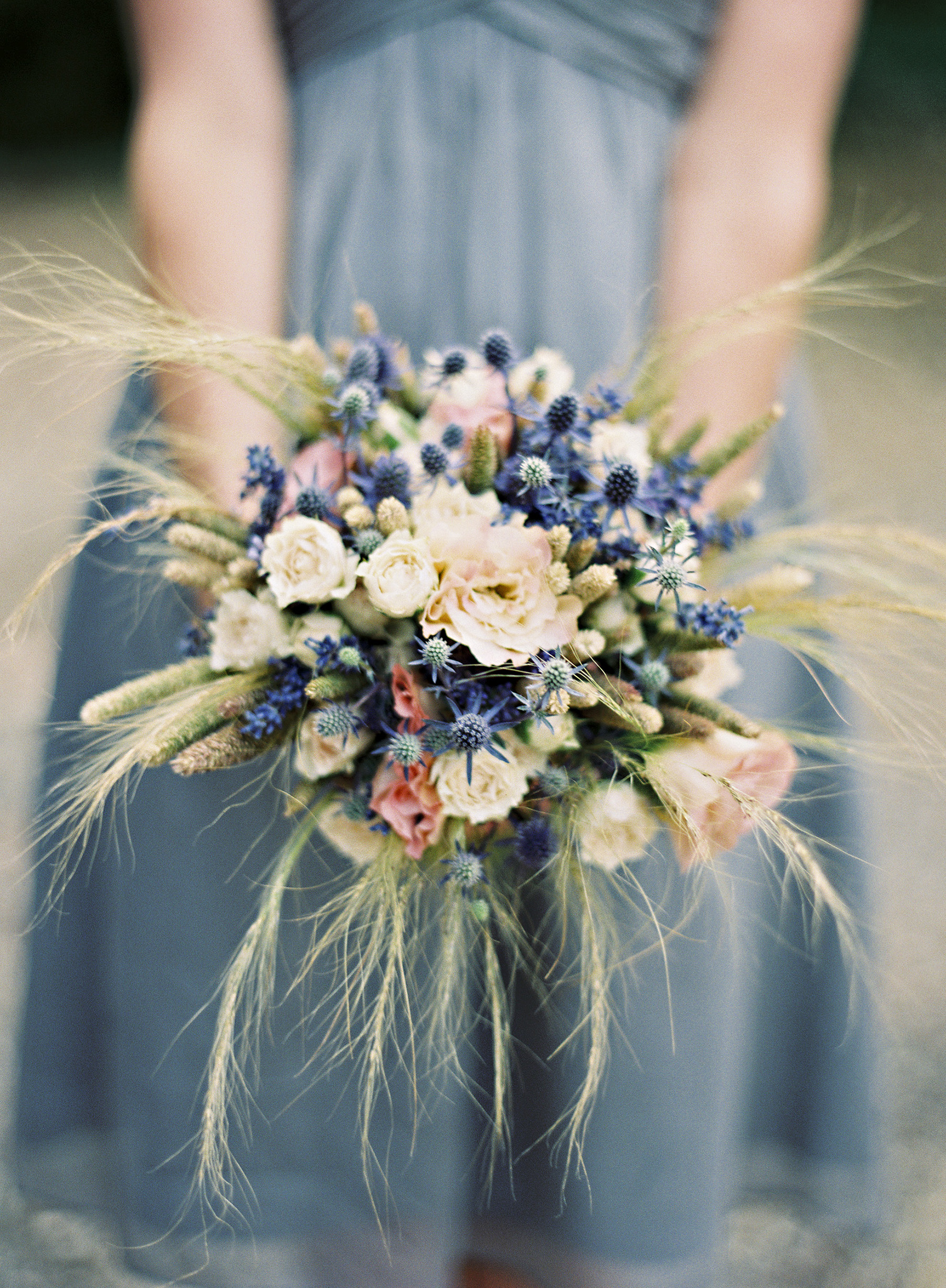 Dried and Fresh Flower Bouquet