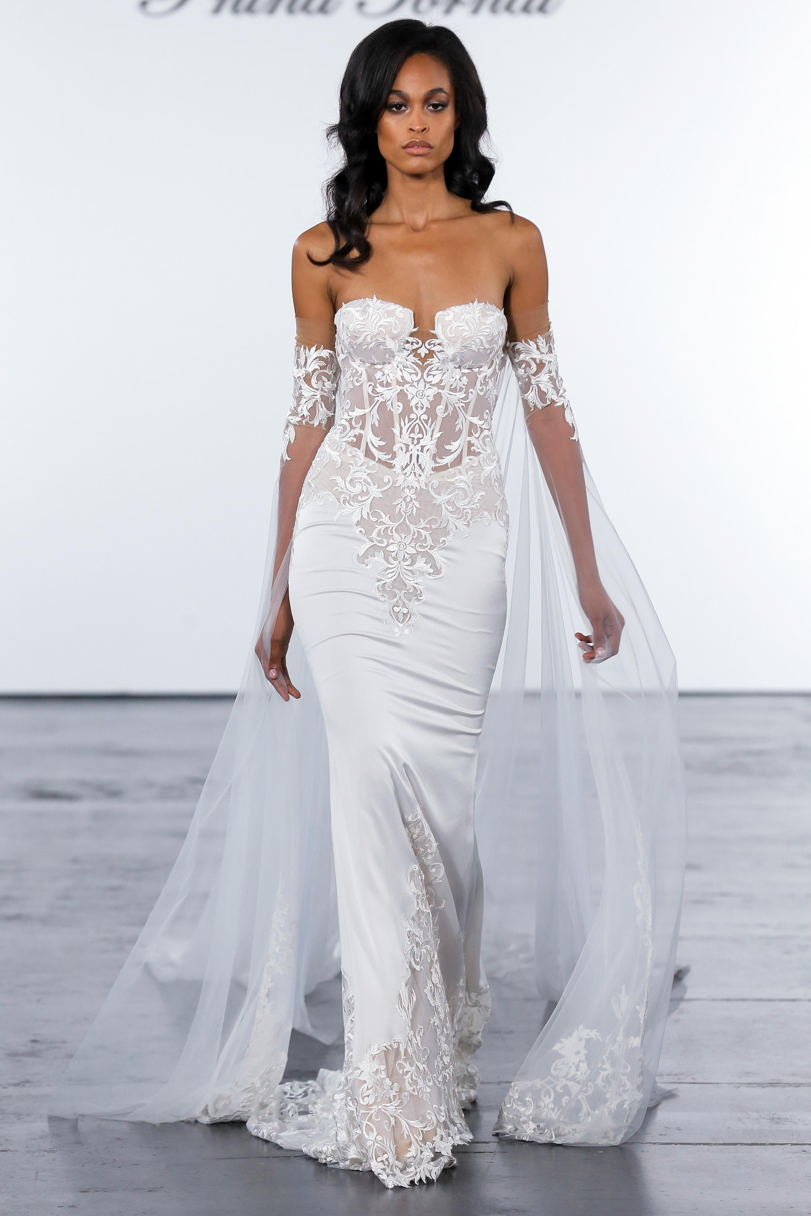 Pnina Tornai Fall 2018 Wedding Dress Collection Martha Stewart