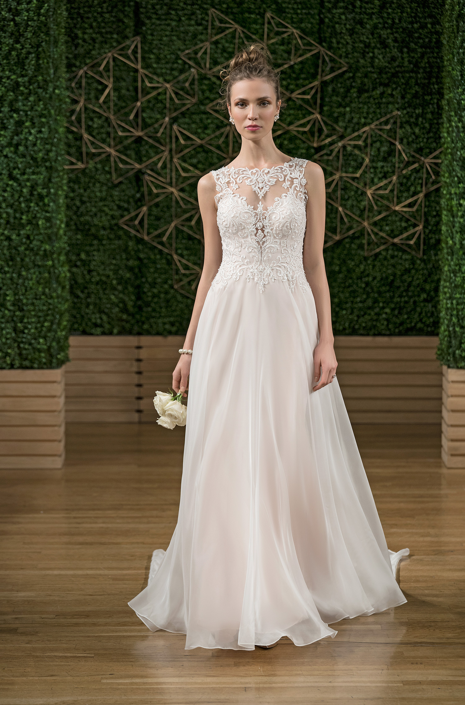 rebecca ingram ball gown wedding dress fall 2018