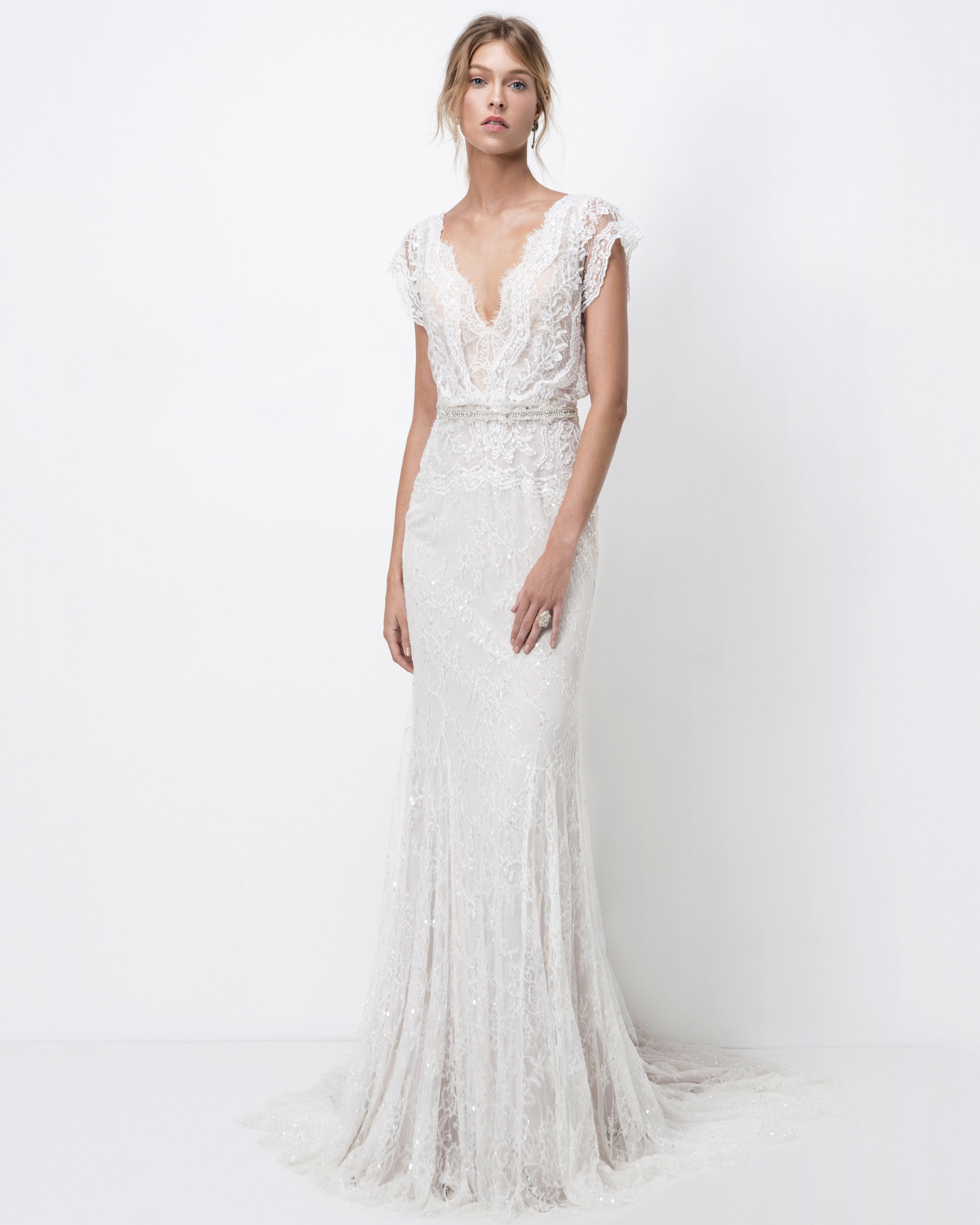 lihi hod lace trumpet wedding dress fall 2018