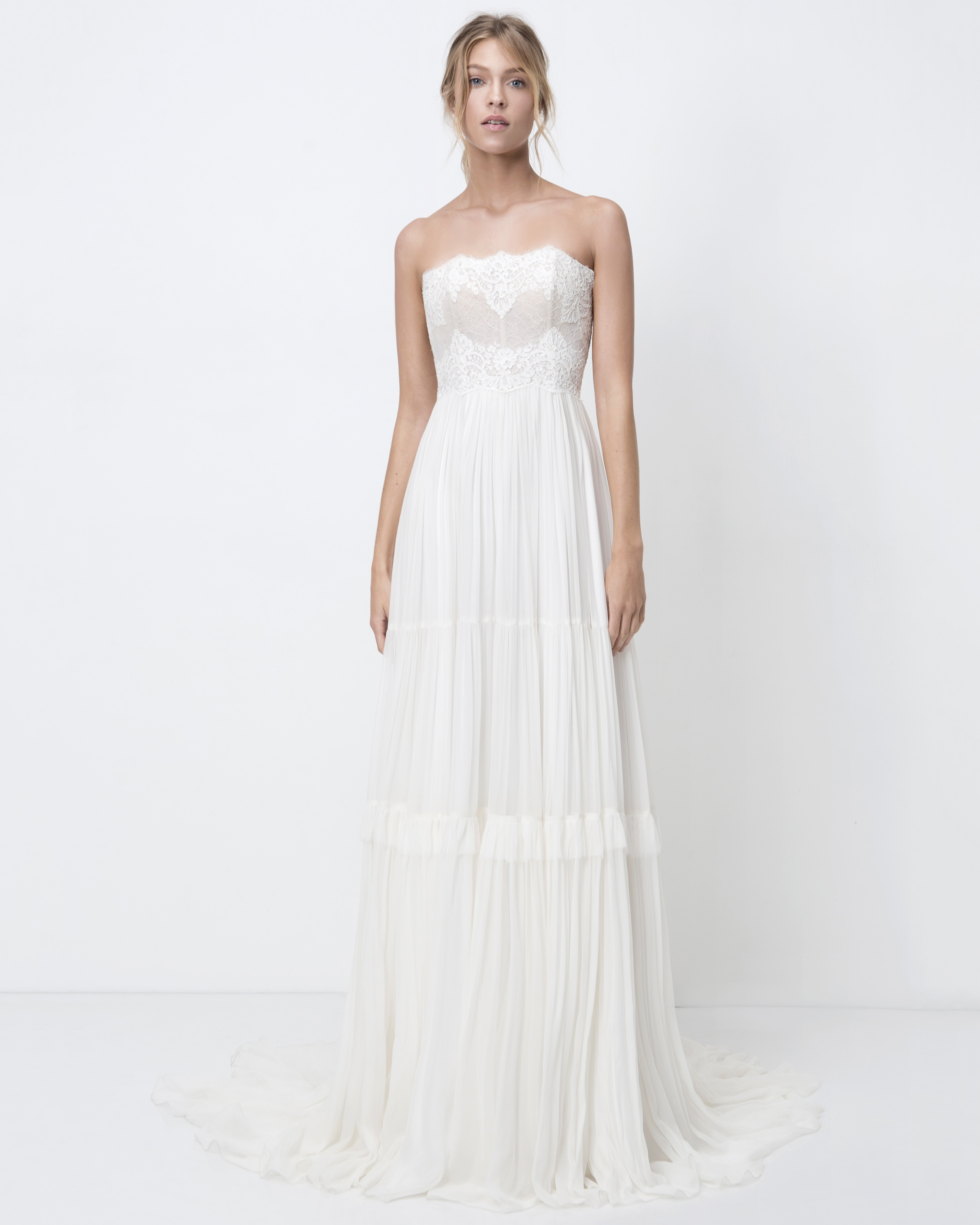 lihi hod strapless sheath wedding dress fall 2018